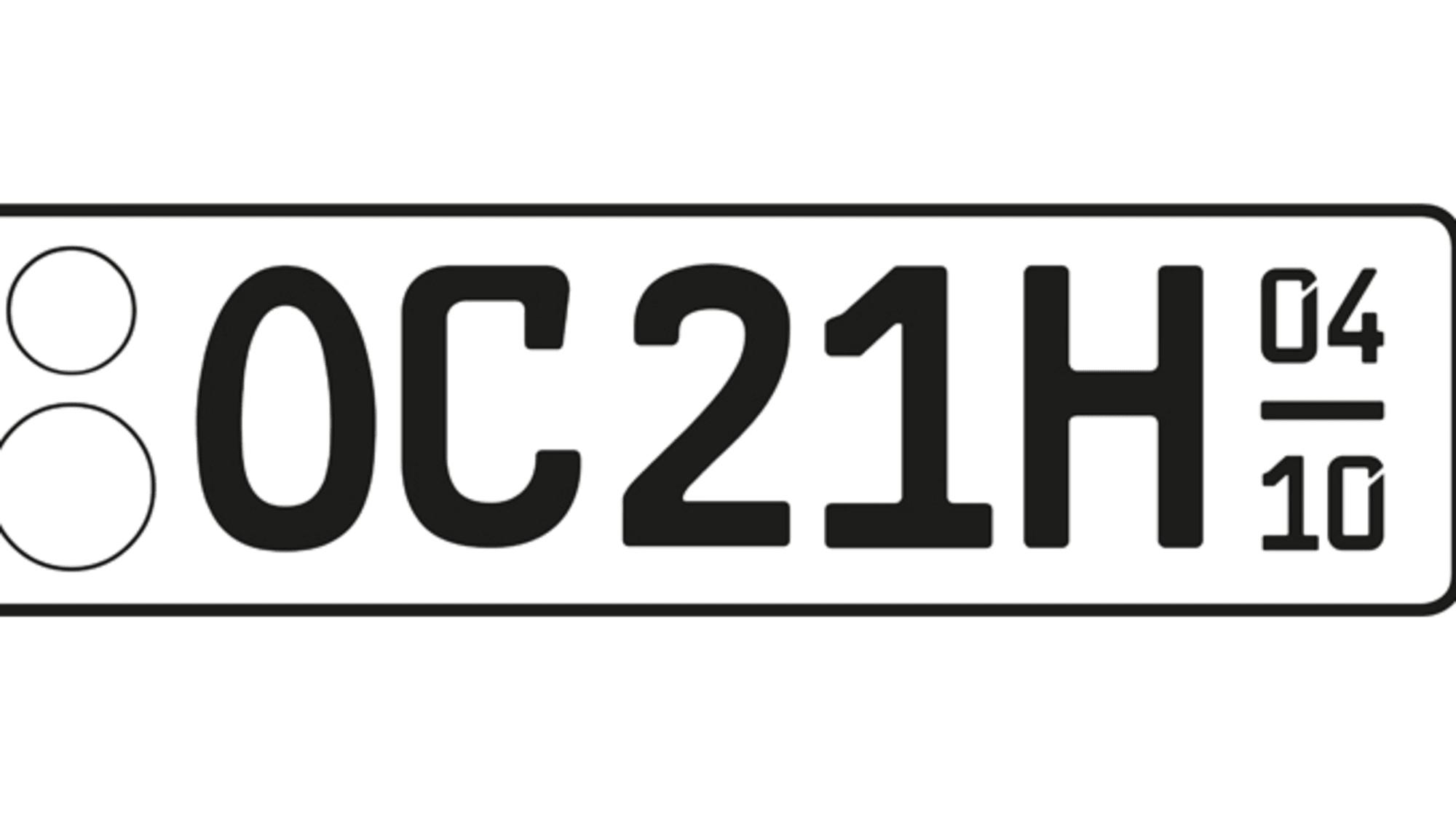 Ein H-Kennzeichen für Oldtimer
