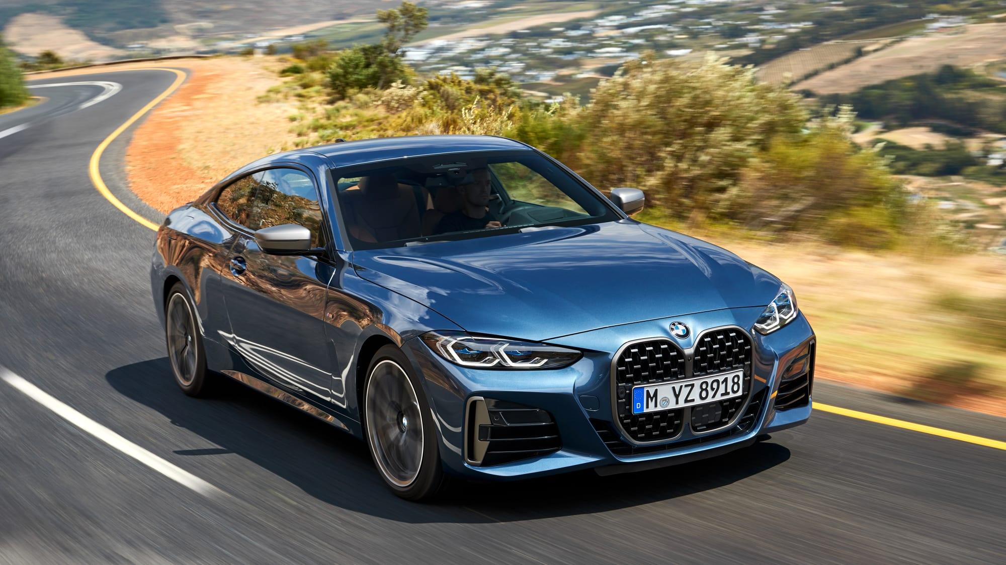 BMW 4er Coupe fahrend