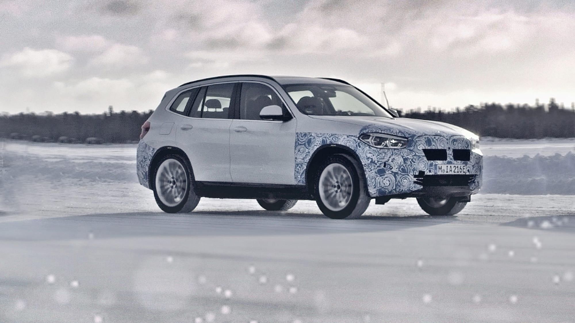 BMW iX3 Elektro-SUV: Batterie, Daten, Reichweite | ADAC