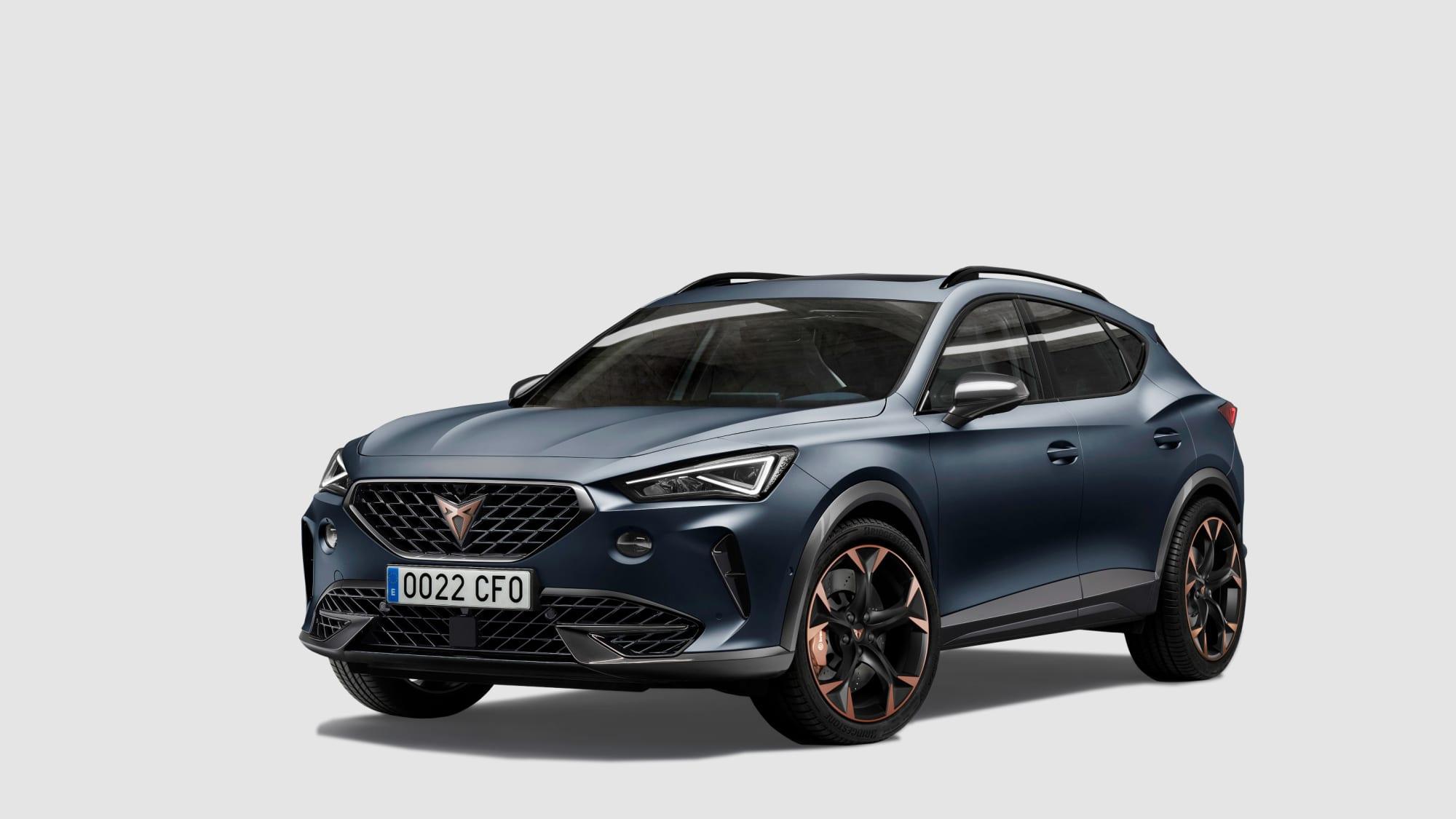 Formentor heisst das erste eigenstänige Modell der sportlichen Seat-Marke Cupra