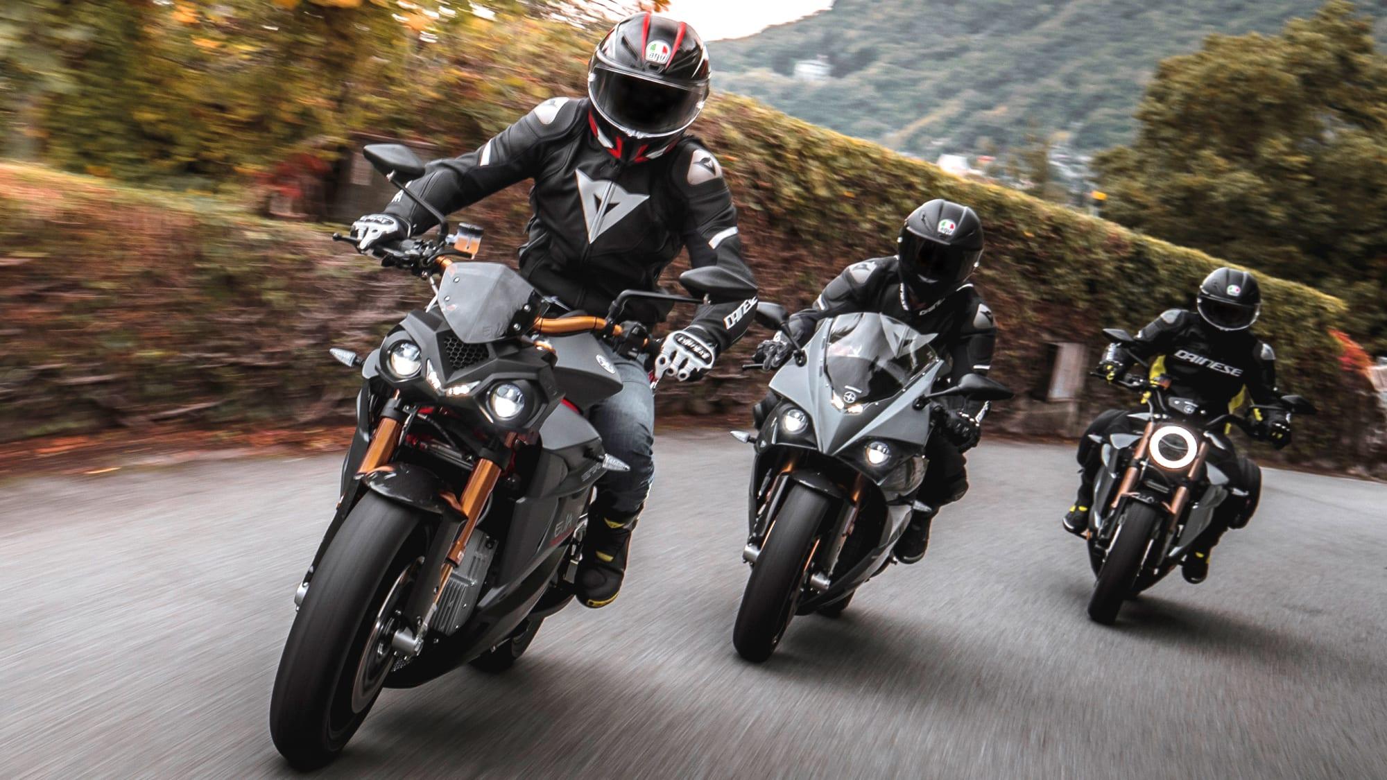 Motorradreihe von Energica
