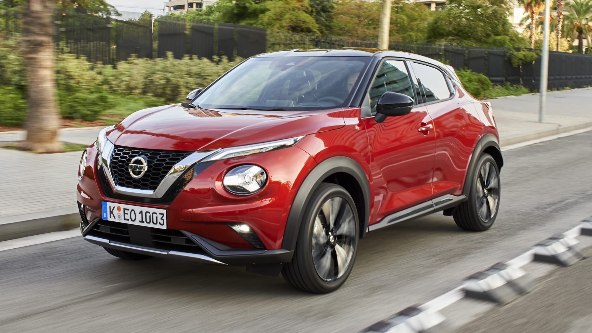 2020 Nissan Juke Speed Test