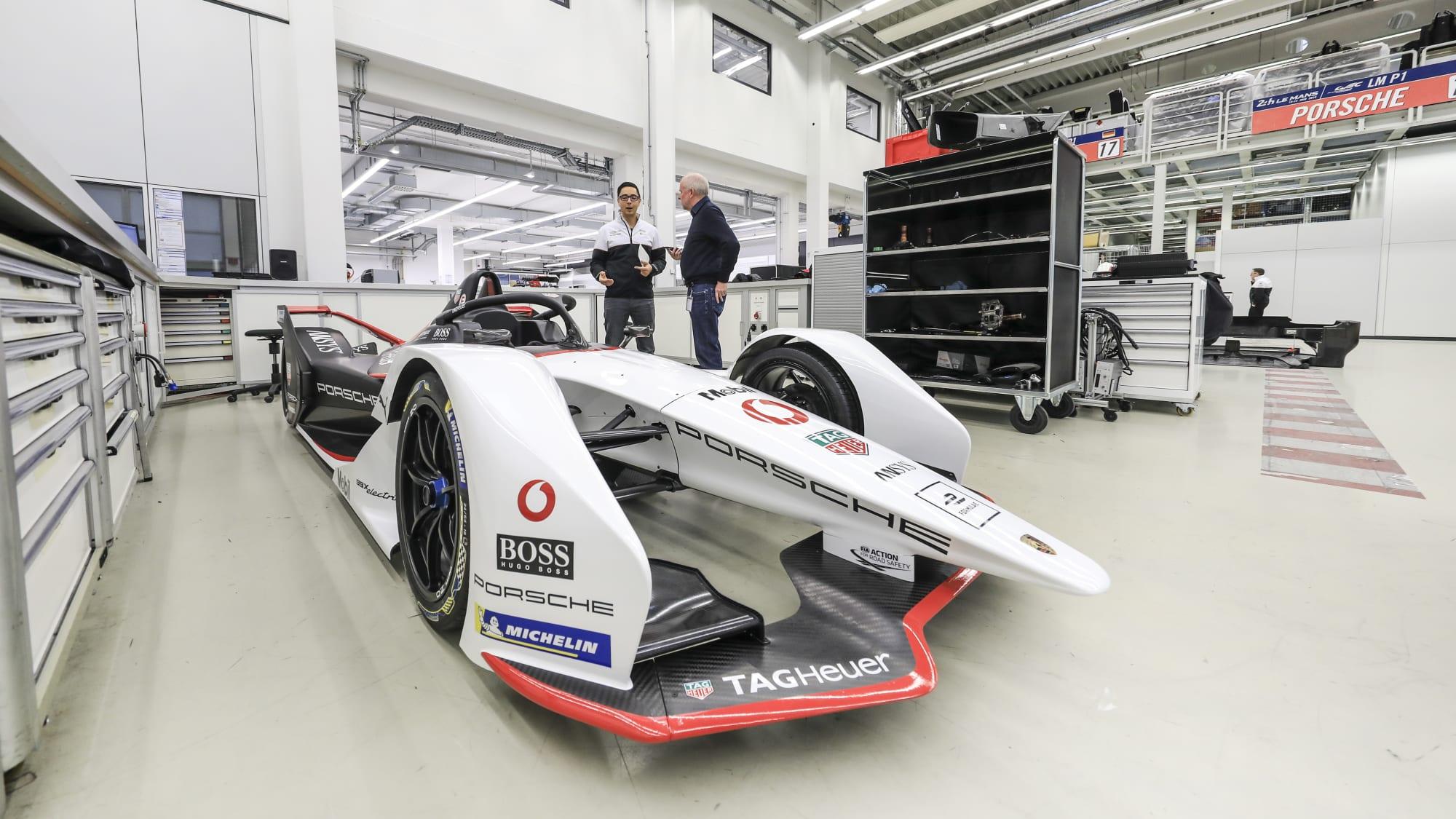 Porsche Ingenieur Max Fiolka im Interview mit Wolfgang Rudschies