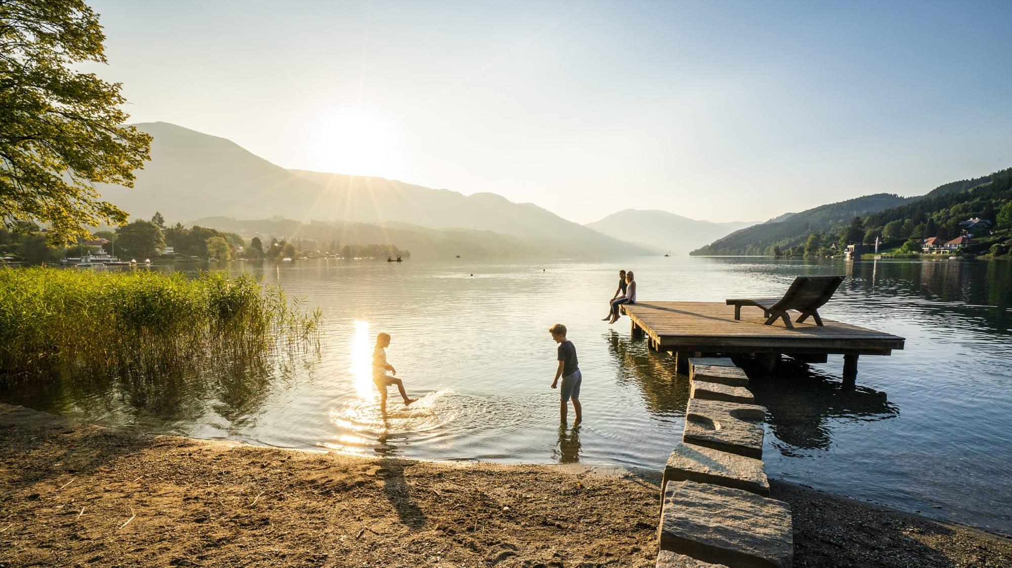 Im Juli 2020 macht man gut in Kärnten am Millstätter See Urlaub