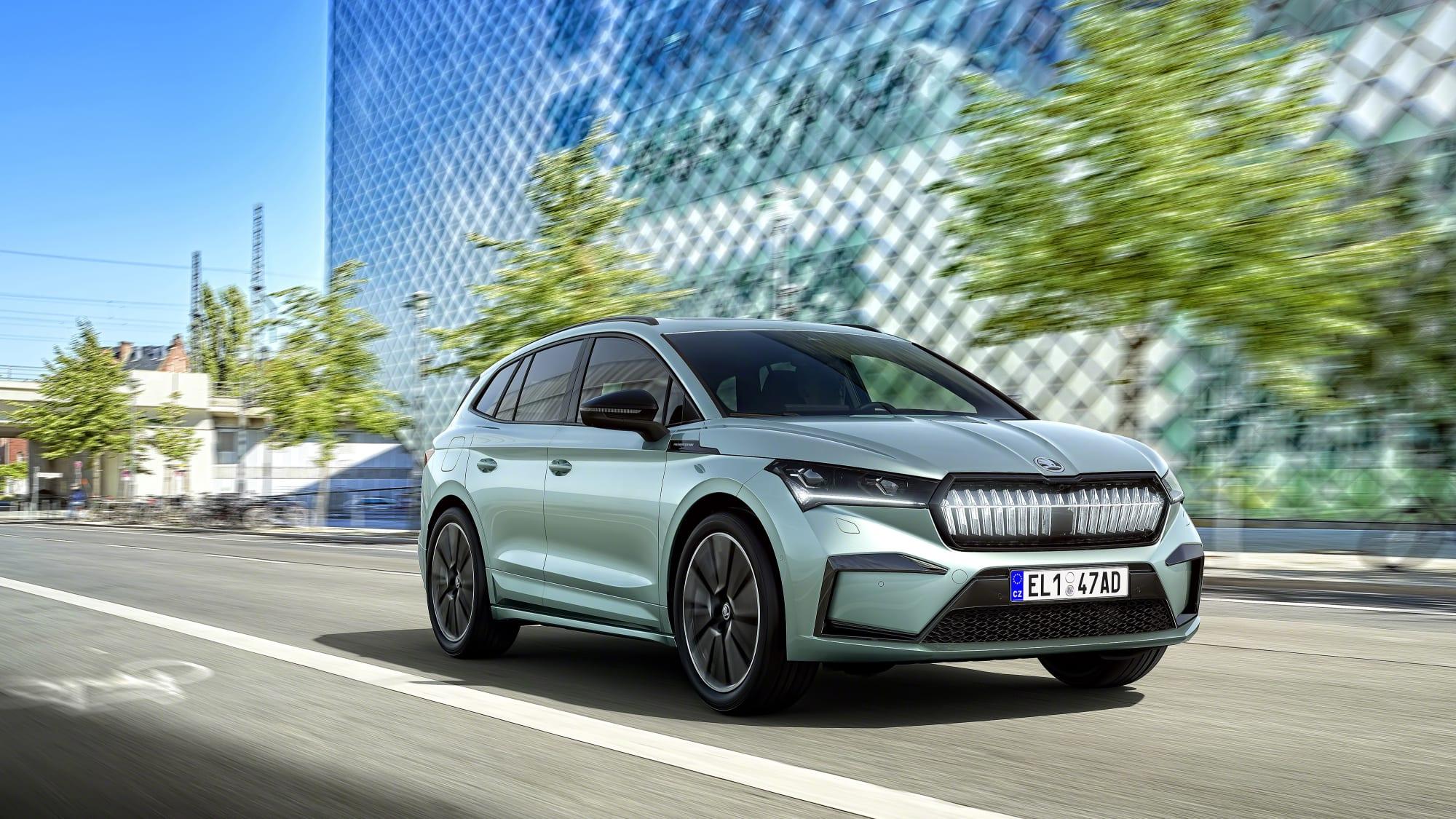Skodas Elektro-SUV   Enyaq iV Modell 2020