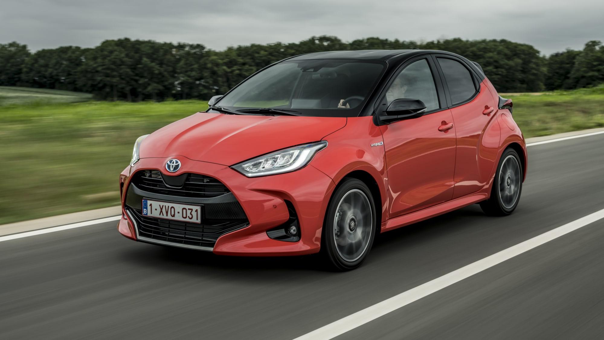 2020 Toyota Yaris Exterior