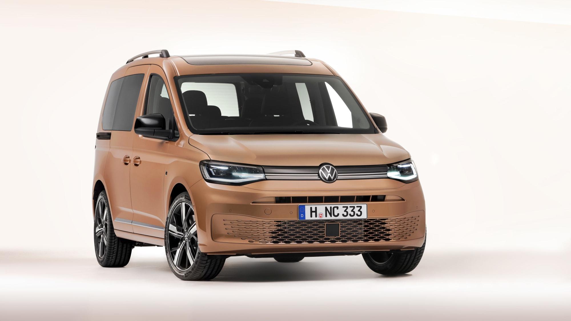 VW Caddy 2020 stehend von vorne