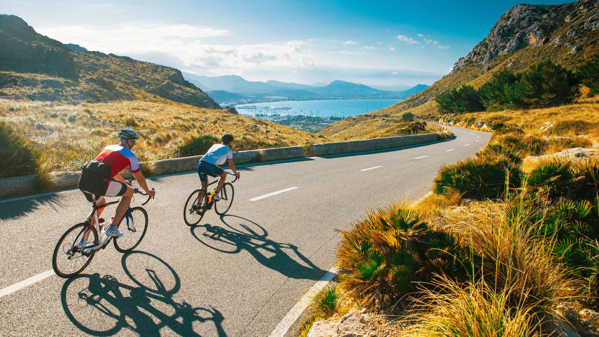 Radfahren auf Bergstraßen auf MAllorca wird bald wieder möglich sein