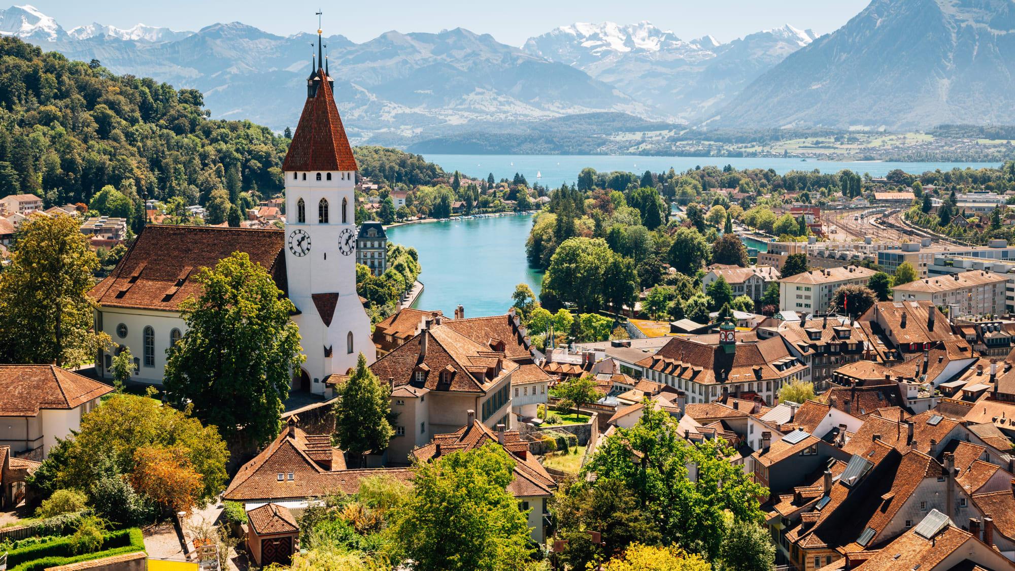 Thun in der Schweiz