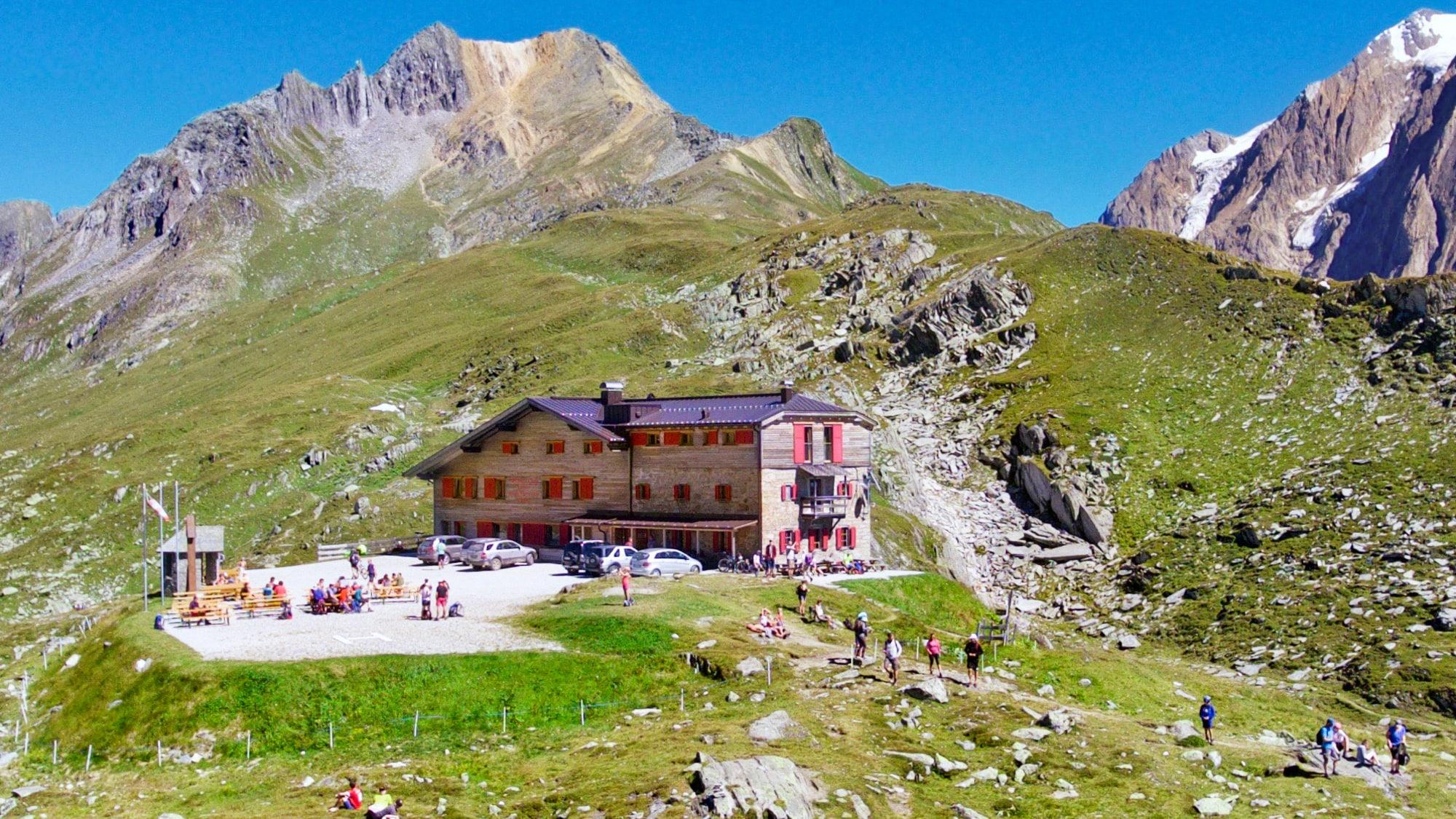 Pfitscherjoch Hütte