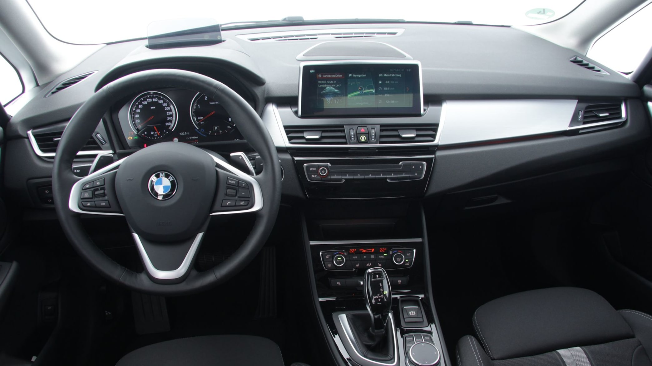 Cockpit BMW 2er 218D Active Tourer