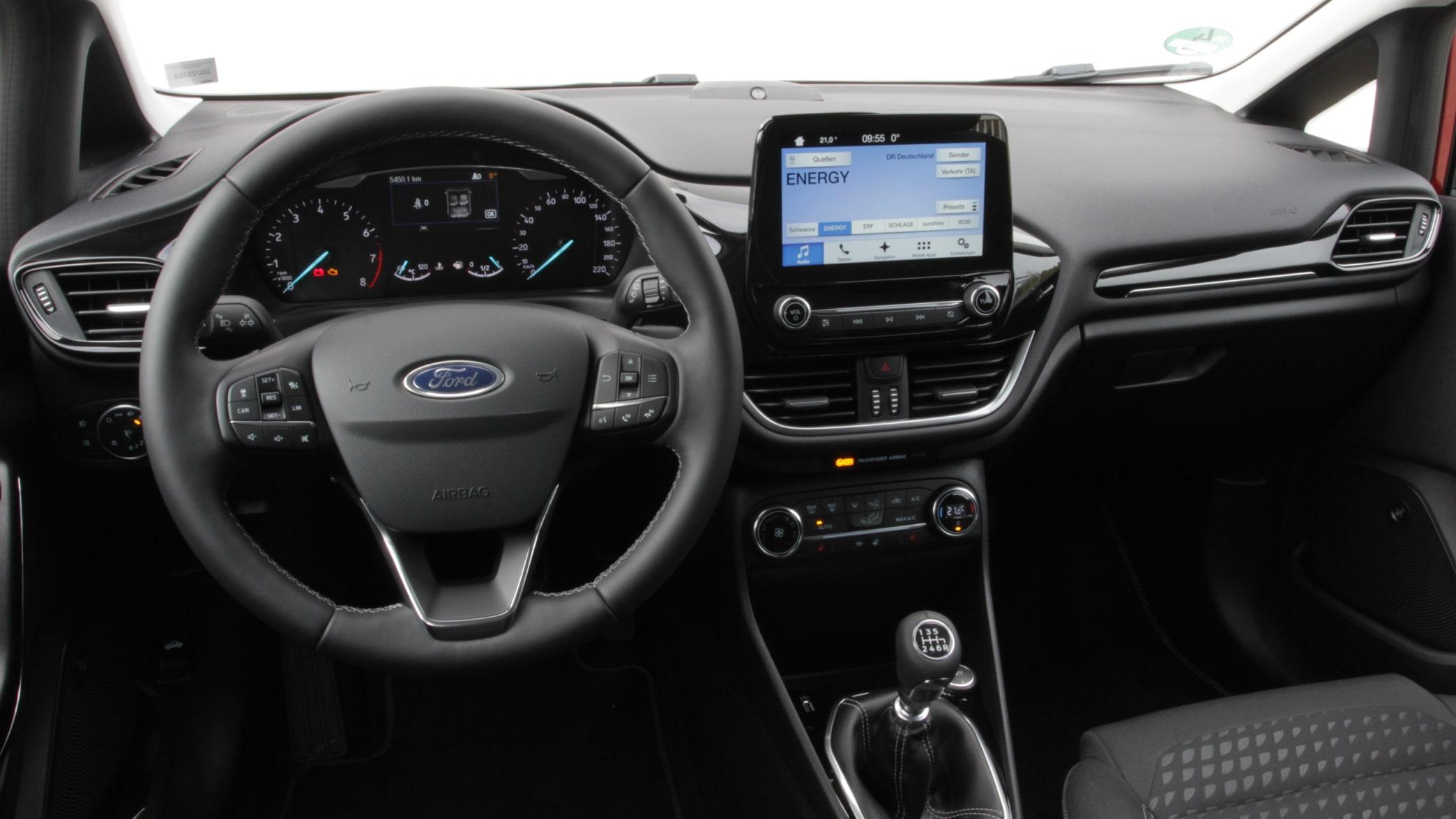 Ford Fiesta Cockpit
