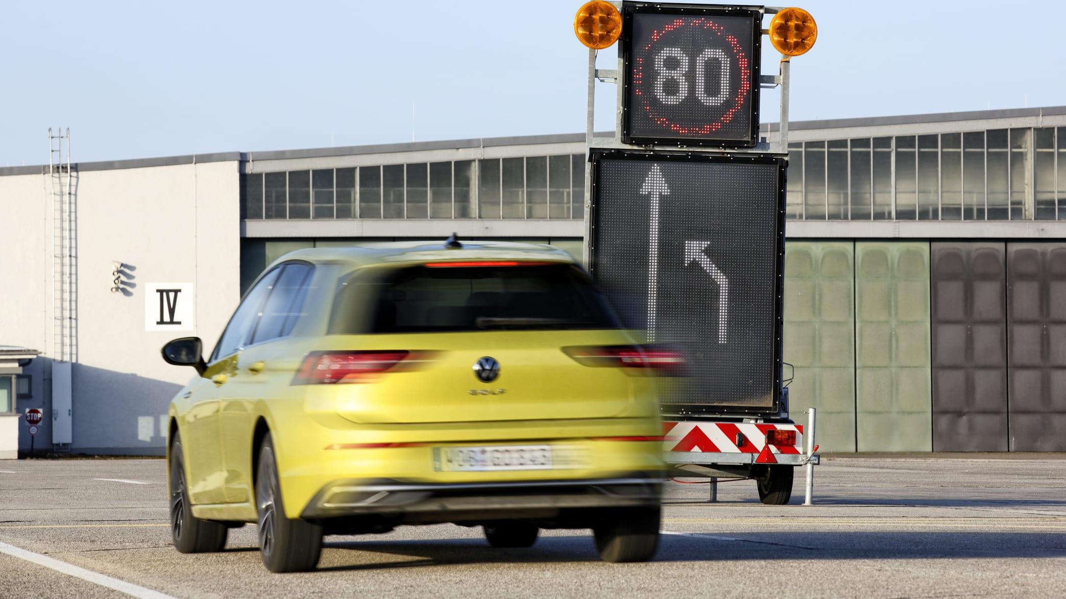 Fahrversuche Car2X in Penzing Fliegerhorst und Umgebung am am 24.01.2020