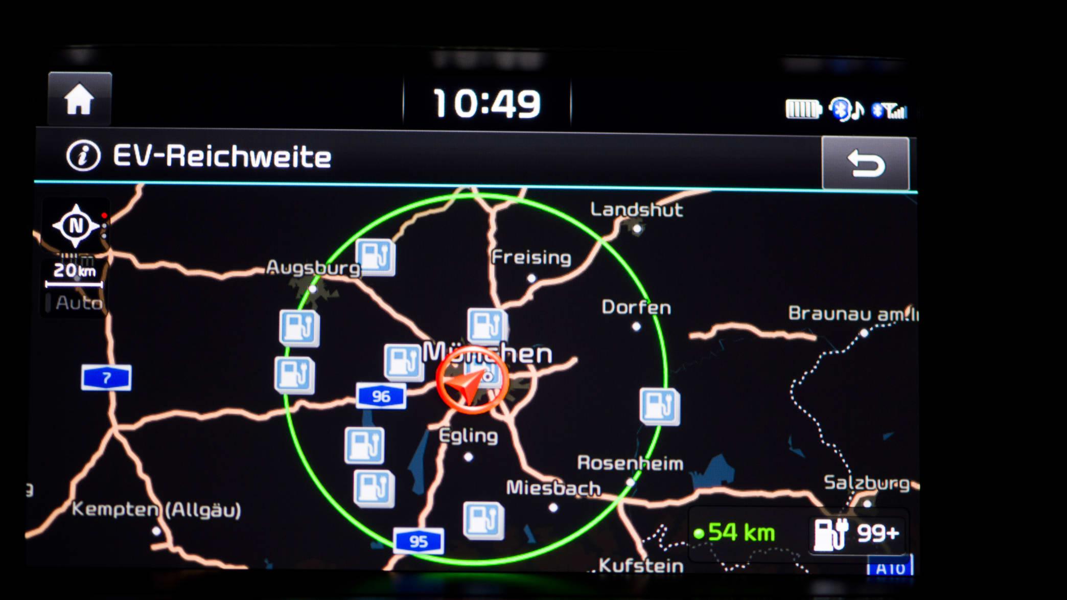 Kia Optima Navigationsgerät