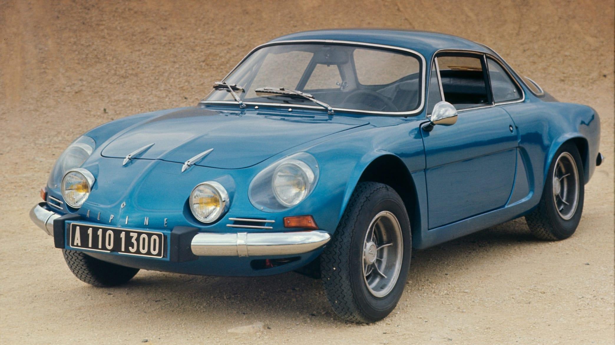 Alpine A110, Baujahr 1962