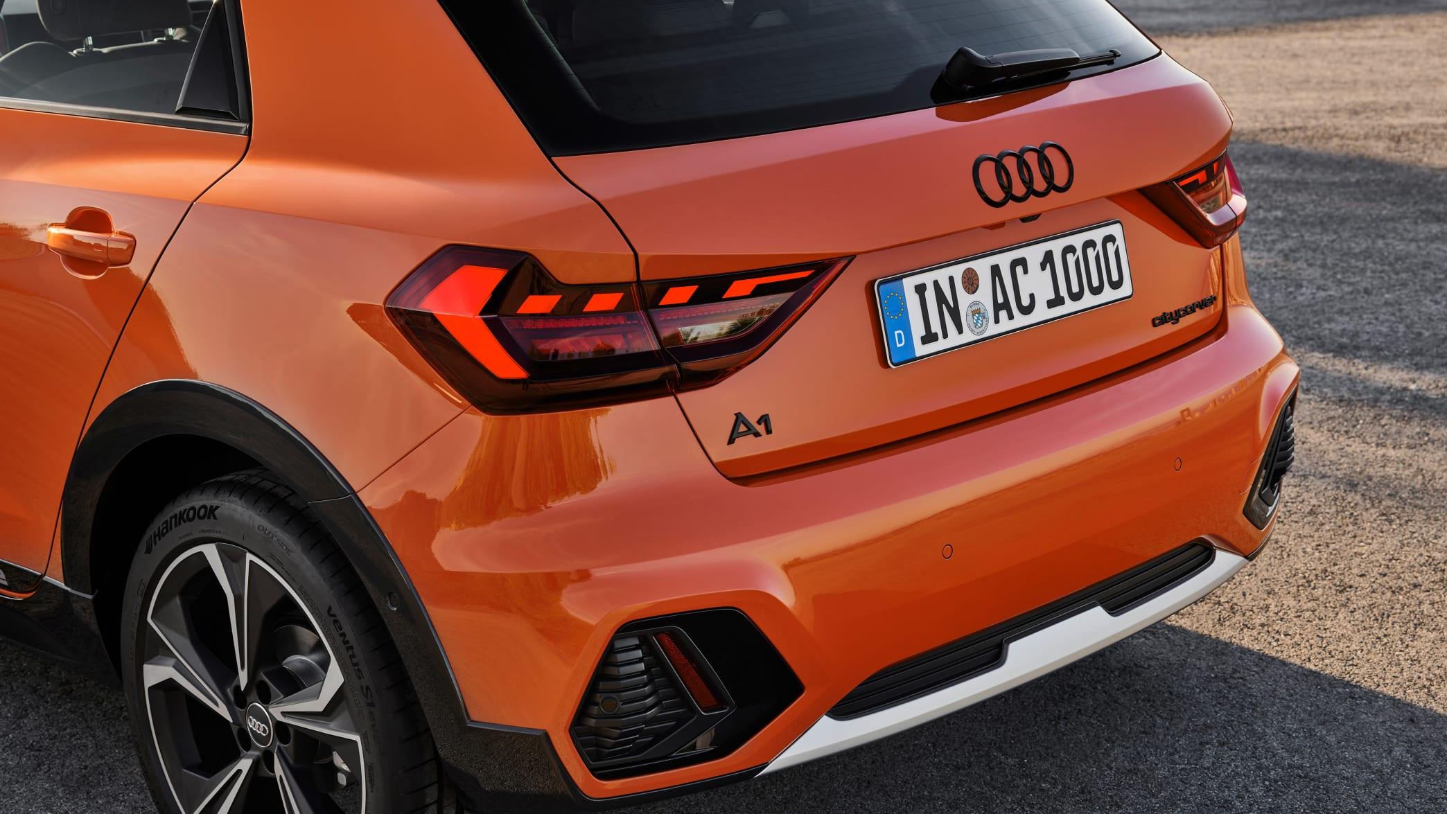 Heck des Audi A1 Citycarver