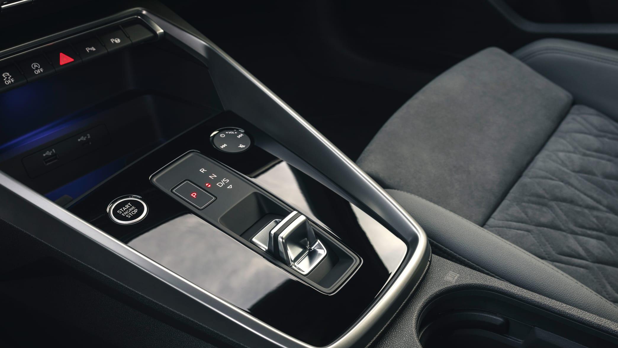 Automatik-Schaltung des Audi A3