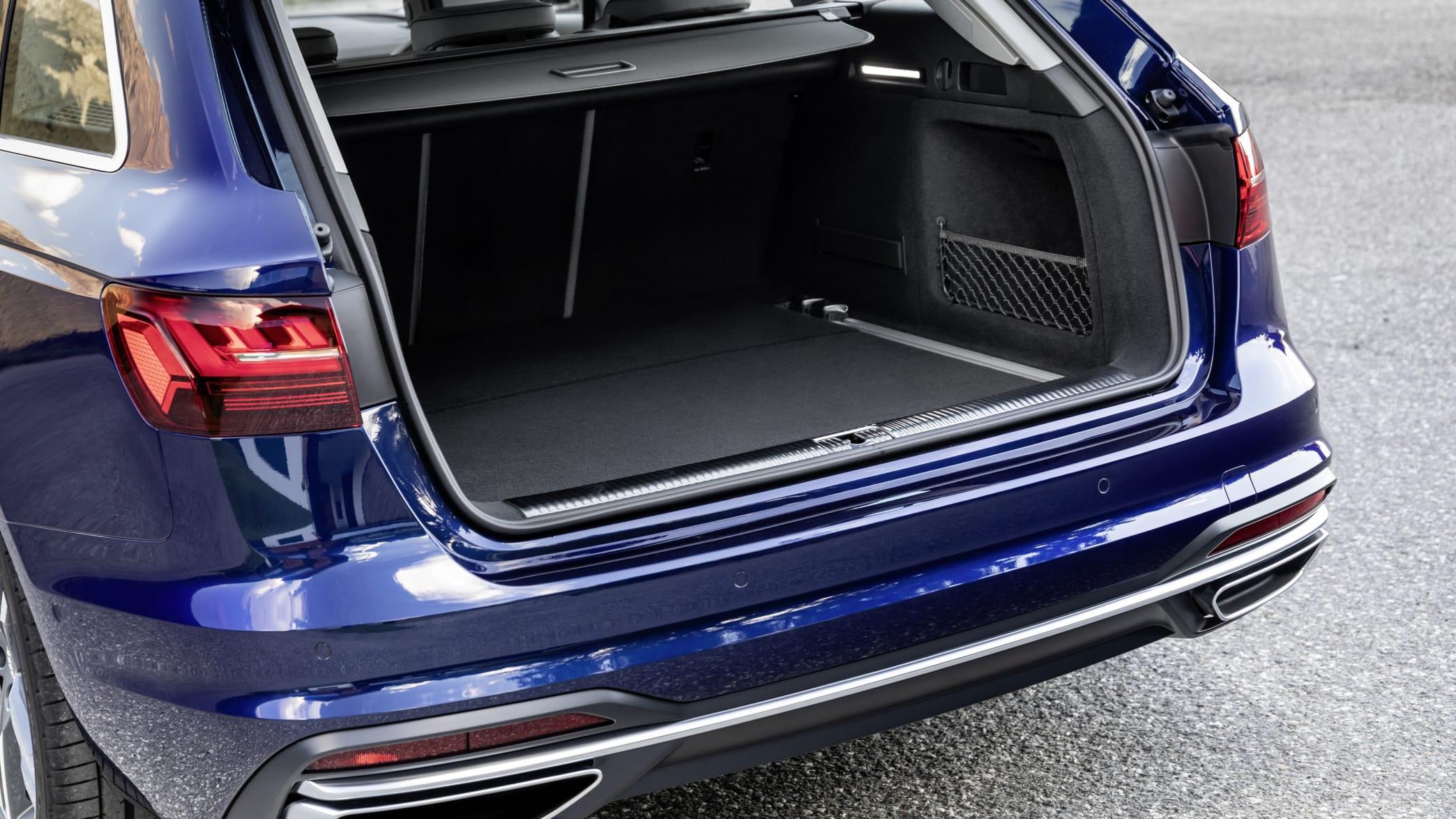 Blick in den Kofferraum des Audi A4 Avant