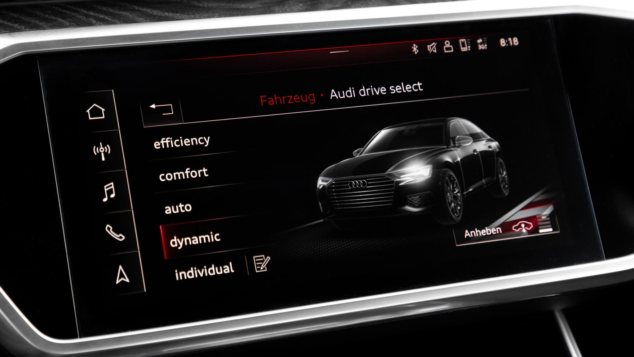 Display eines Audi A6