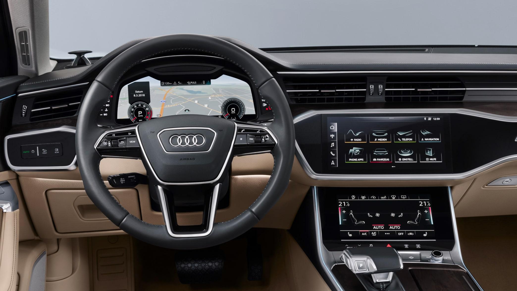 Audi A6 Cockpit