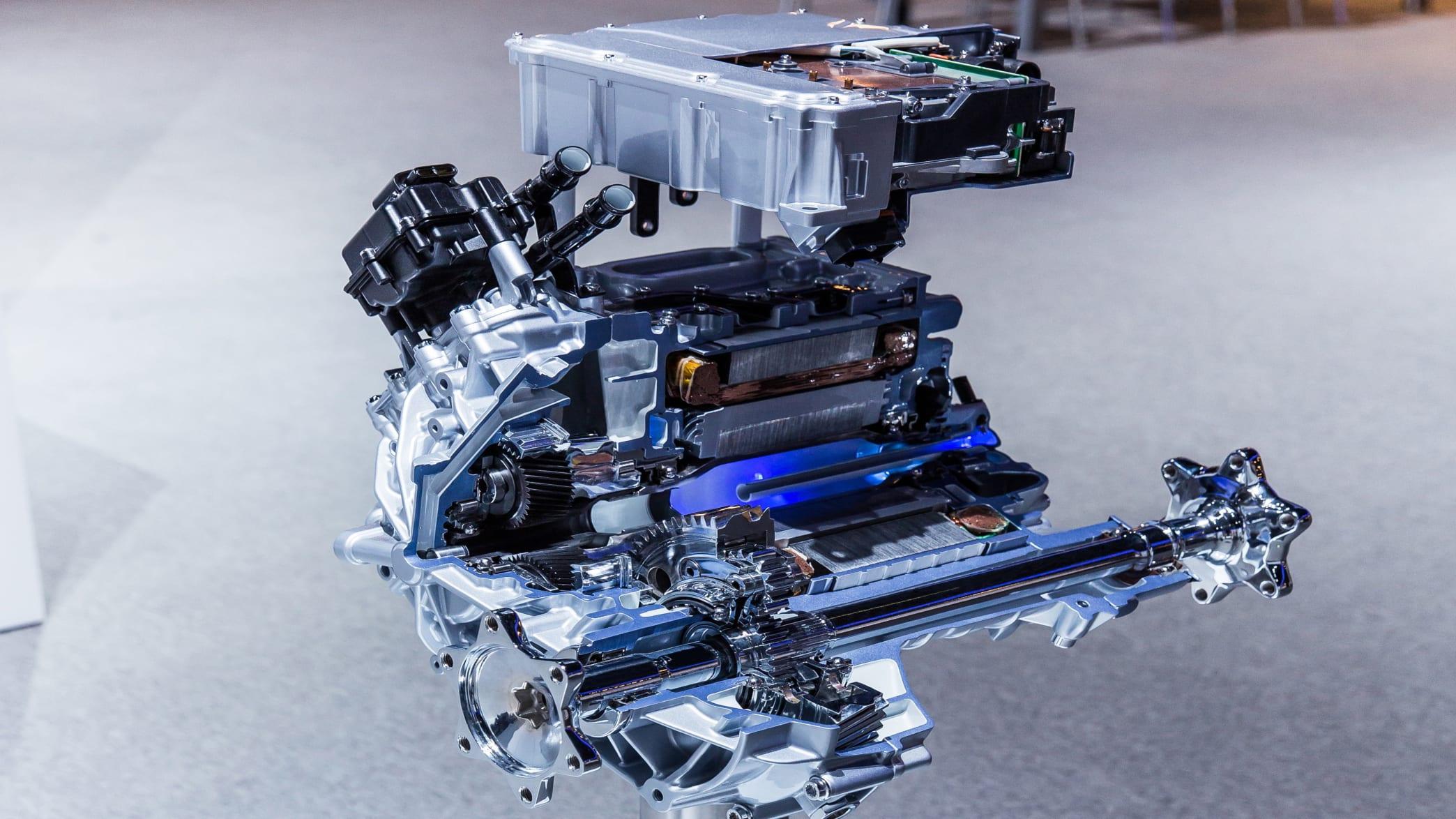 Audi Etron Quattro Motor