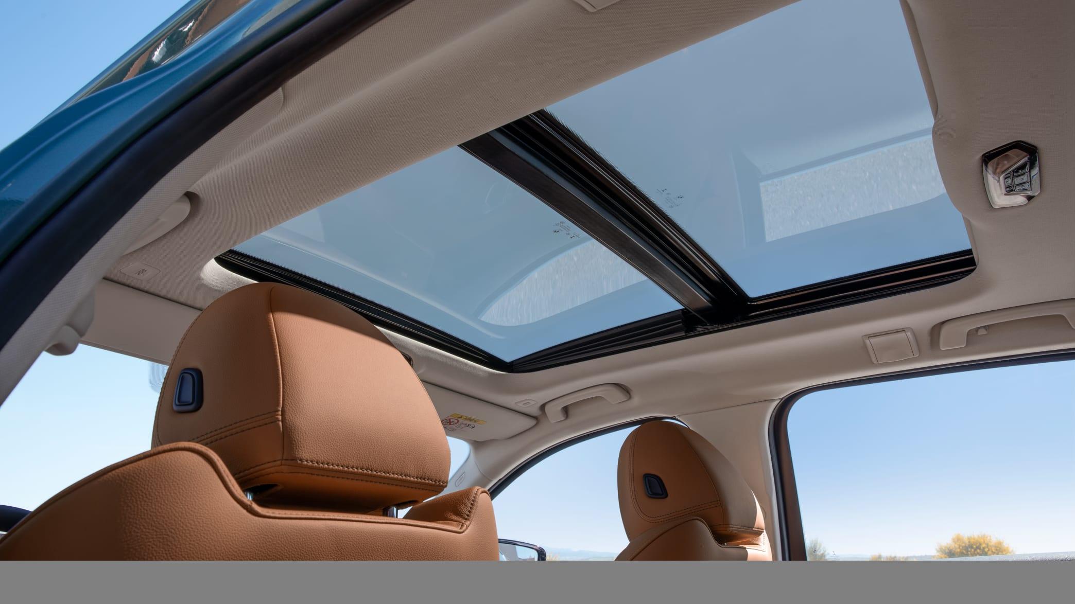 Das Glas-Schiebedach vom BMW 3er Touring