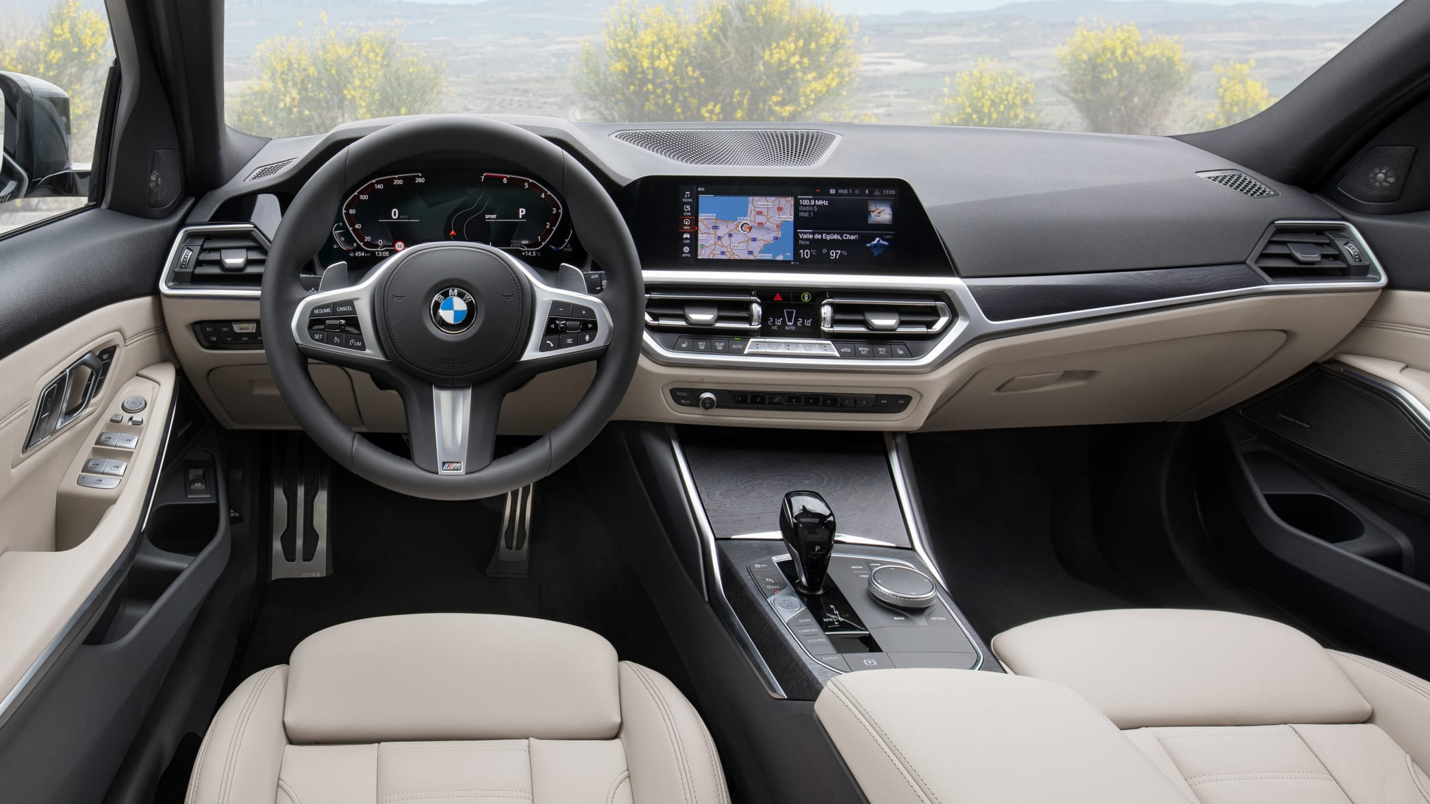 Das Cockpit des BMW 3er Touring