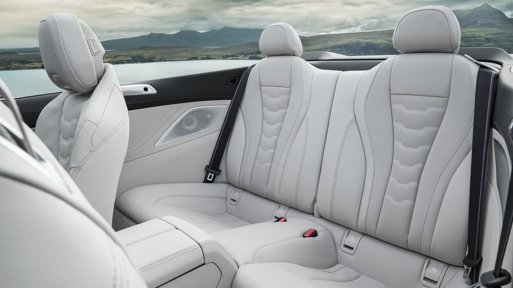 BMW 8er Cabrio Rückbank
