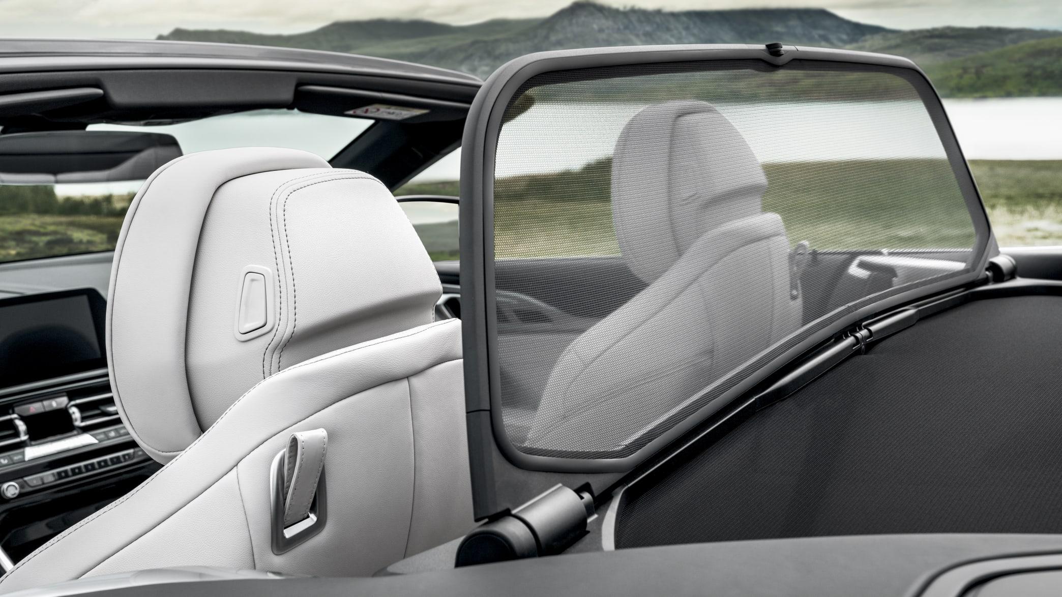 BMW 8er Cabrio Windfang