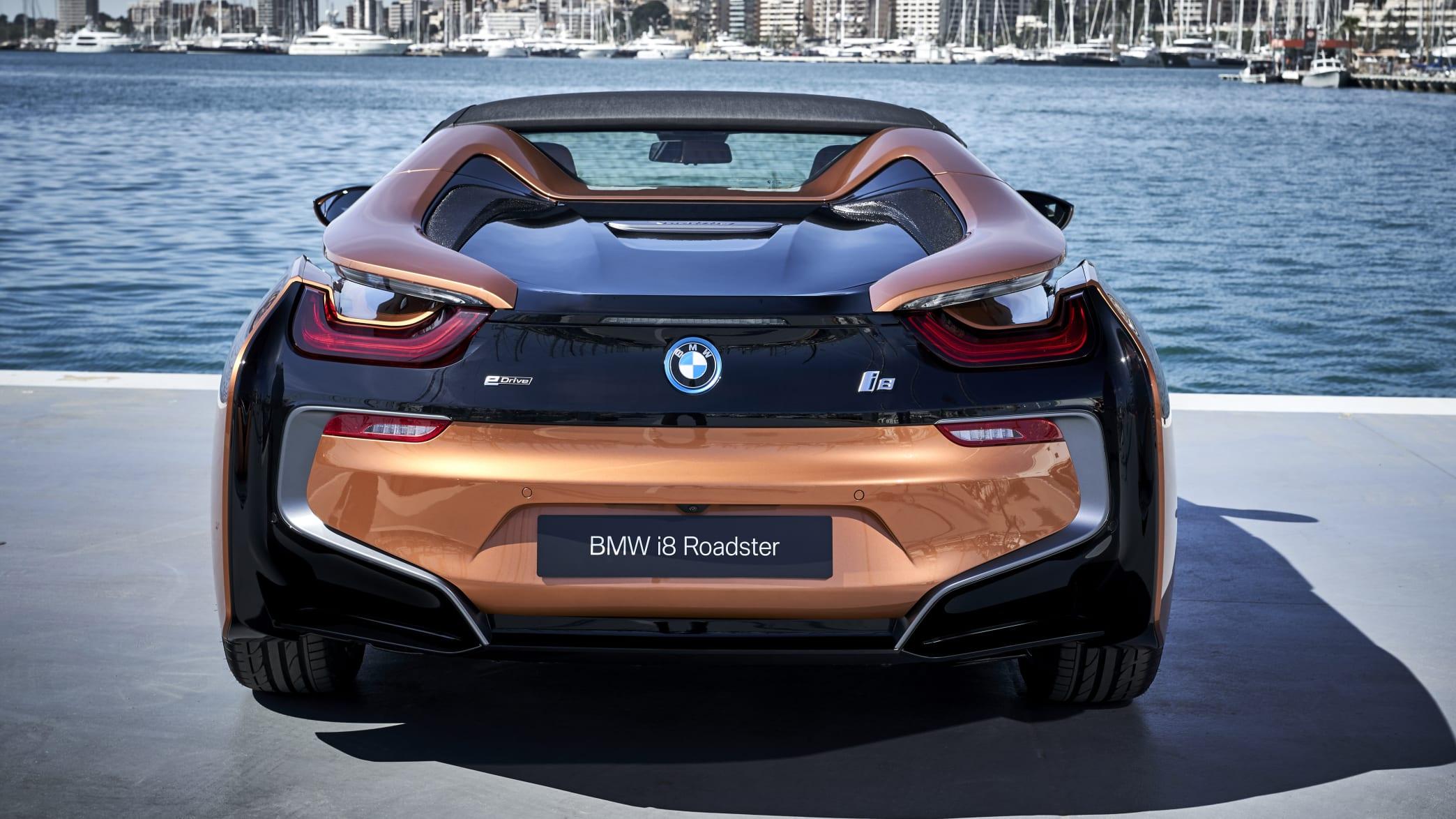 Heck des BMW i8 Roadster