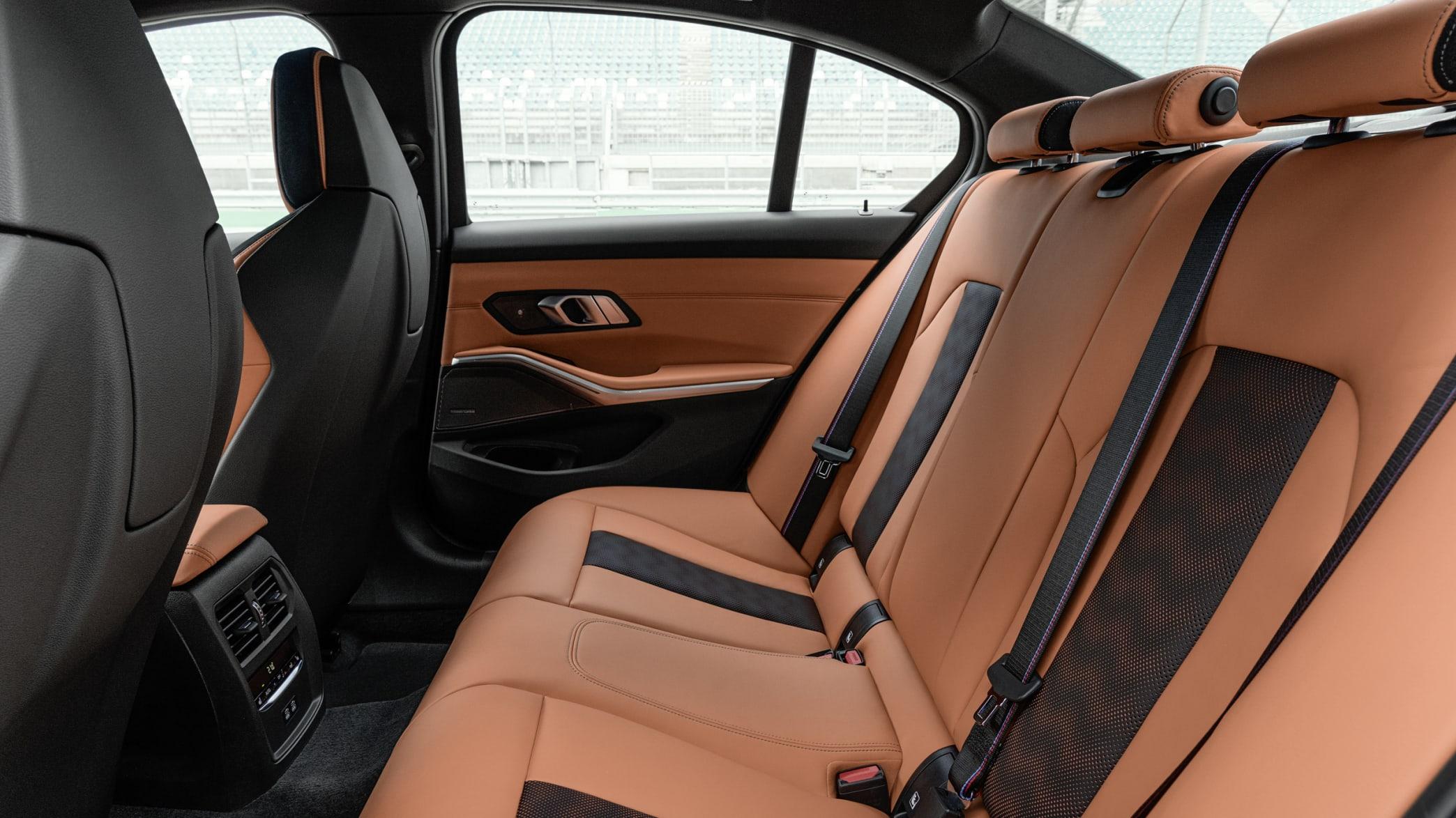 BMW M3 Rückbank
