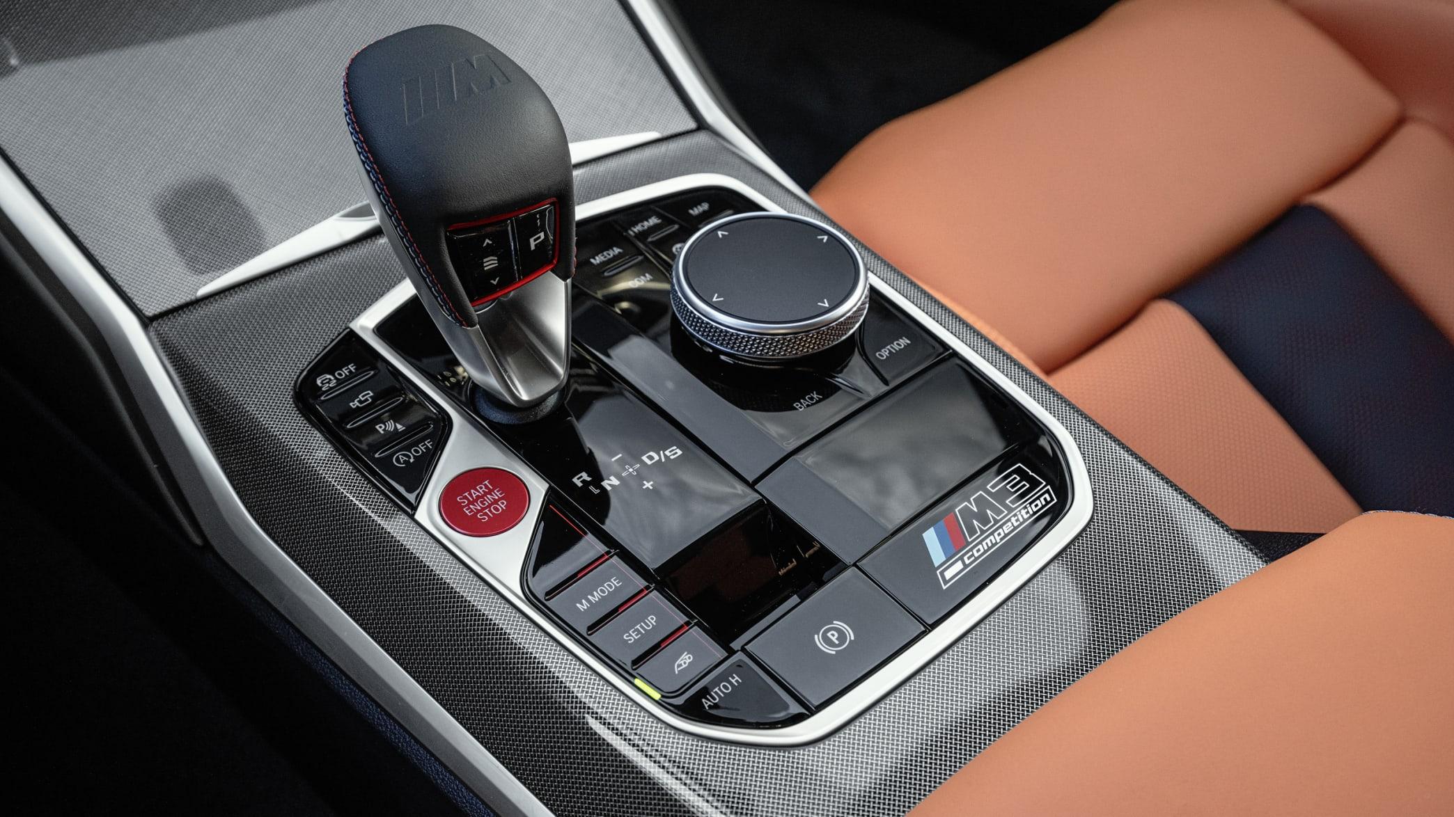 Automatikschaltung eines BMW M3