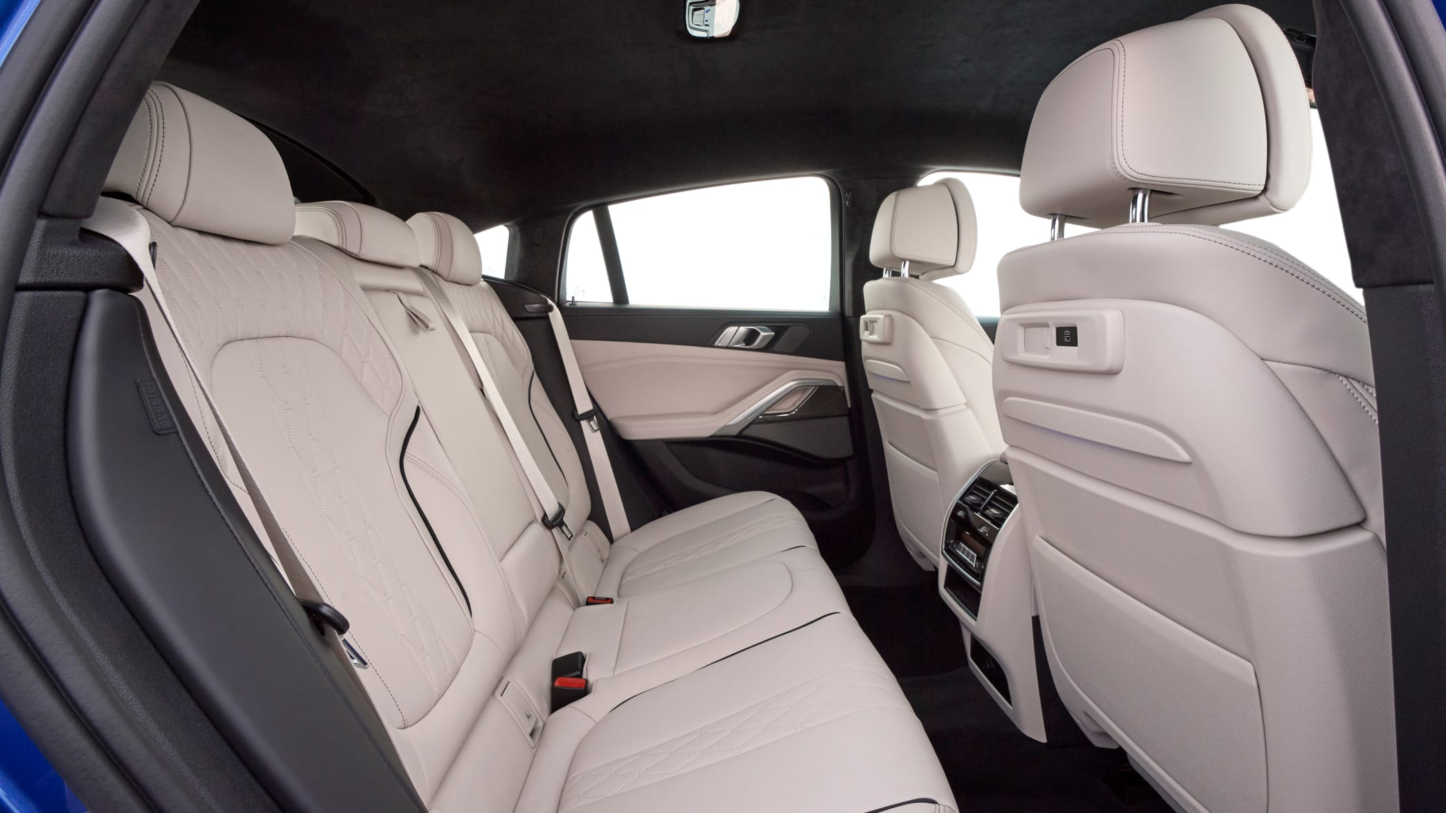 Rückbank des BMW X6