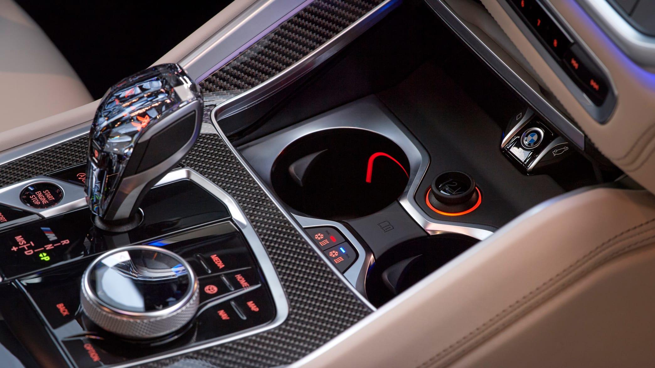 Schaltung des BMW X6