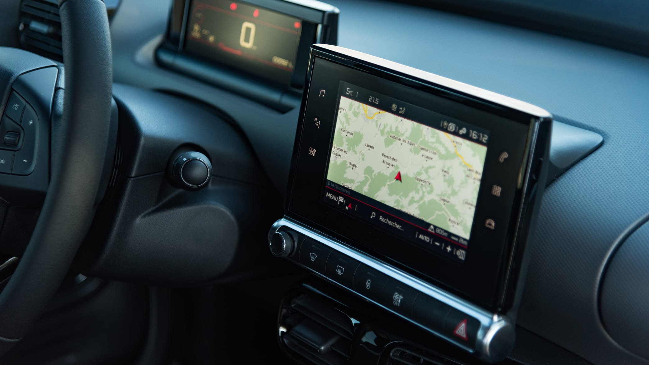 Navigationsgerät des Citroen C4 Cactus