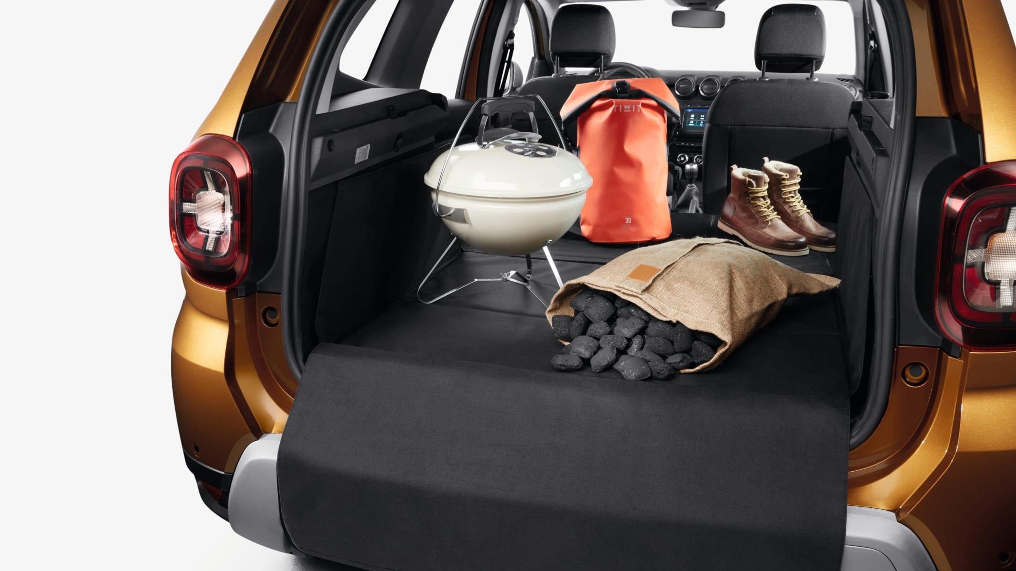 Kofferraum eines Dacia Duster