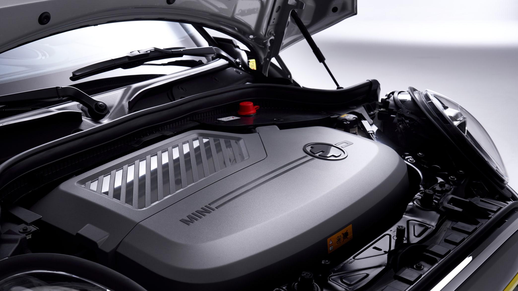 Batterie eines BMW Mini Cooper SE