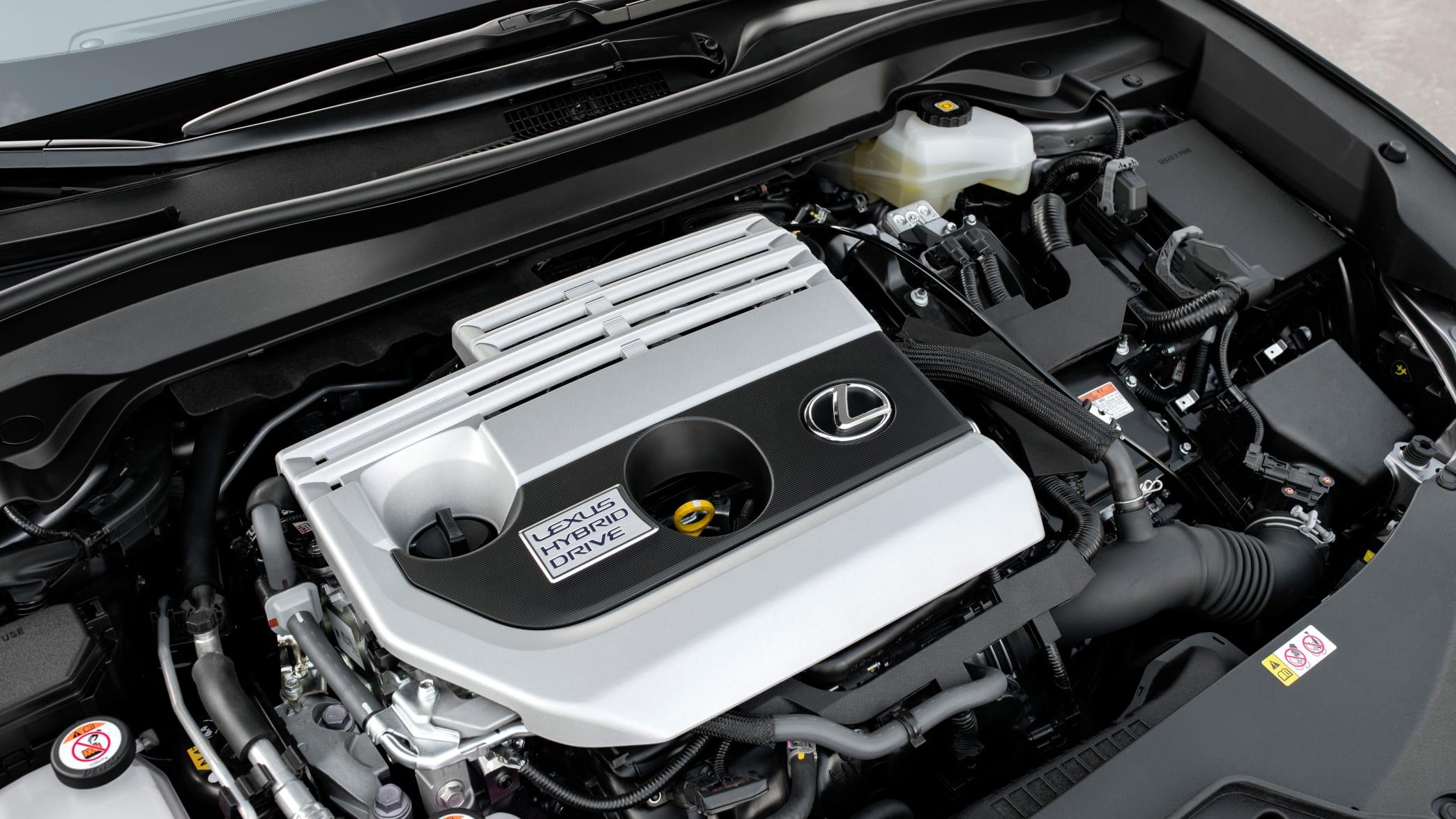 Motor eines Lexus UX 2019