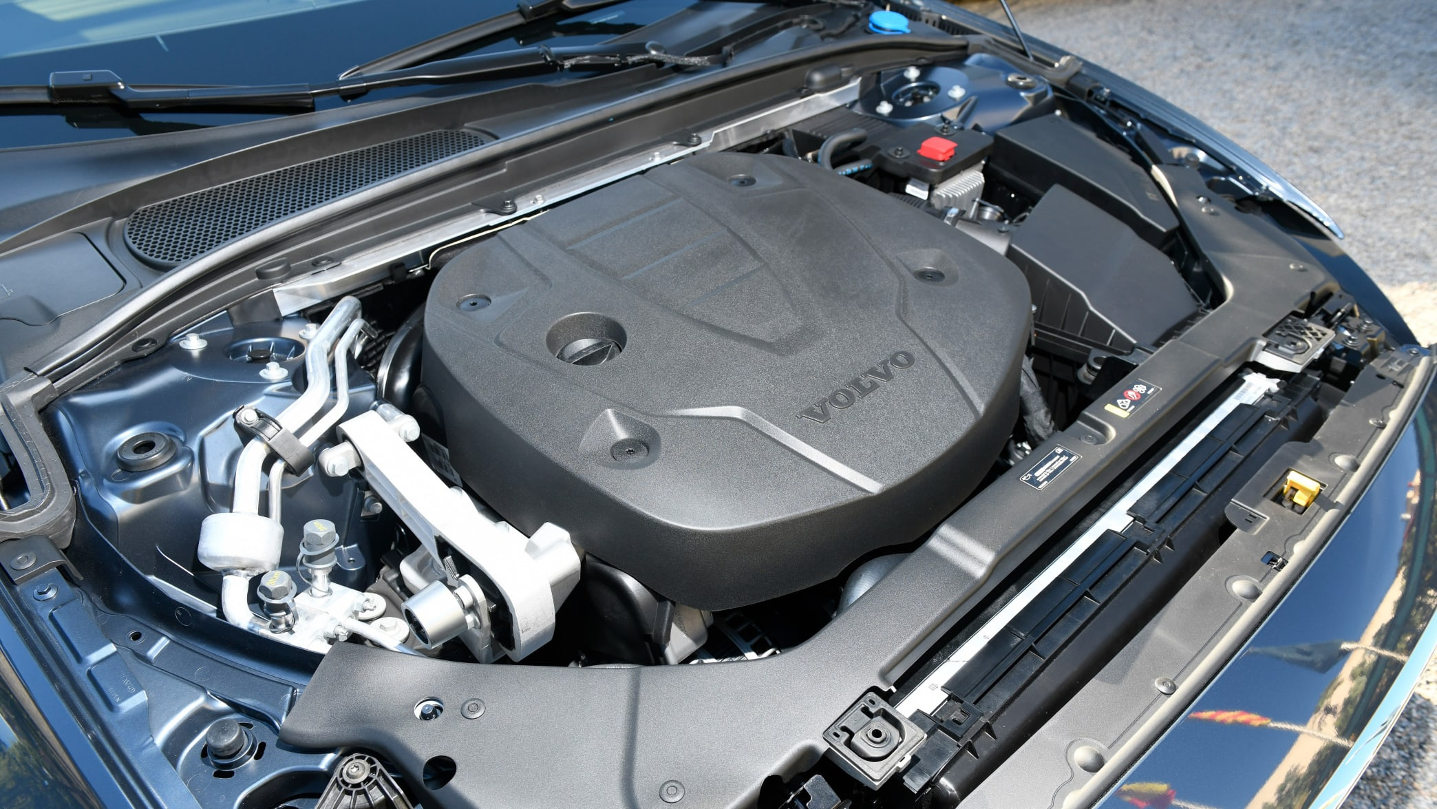 Motor eines Volvo V60