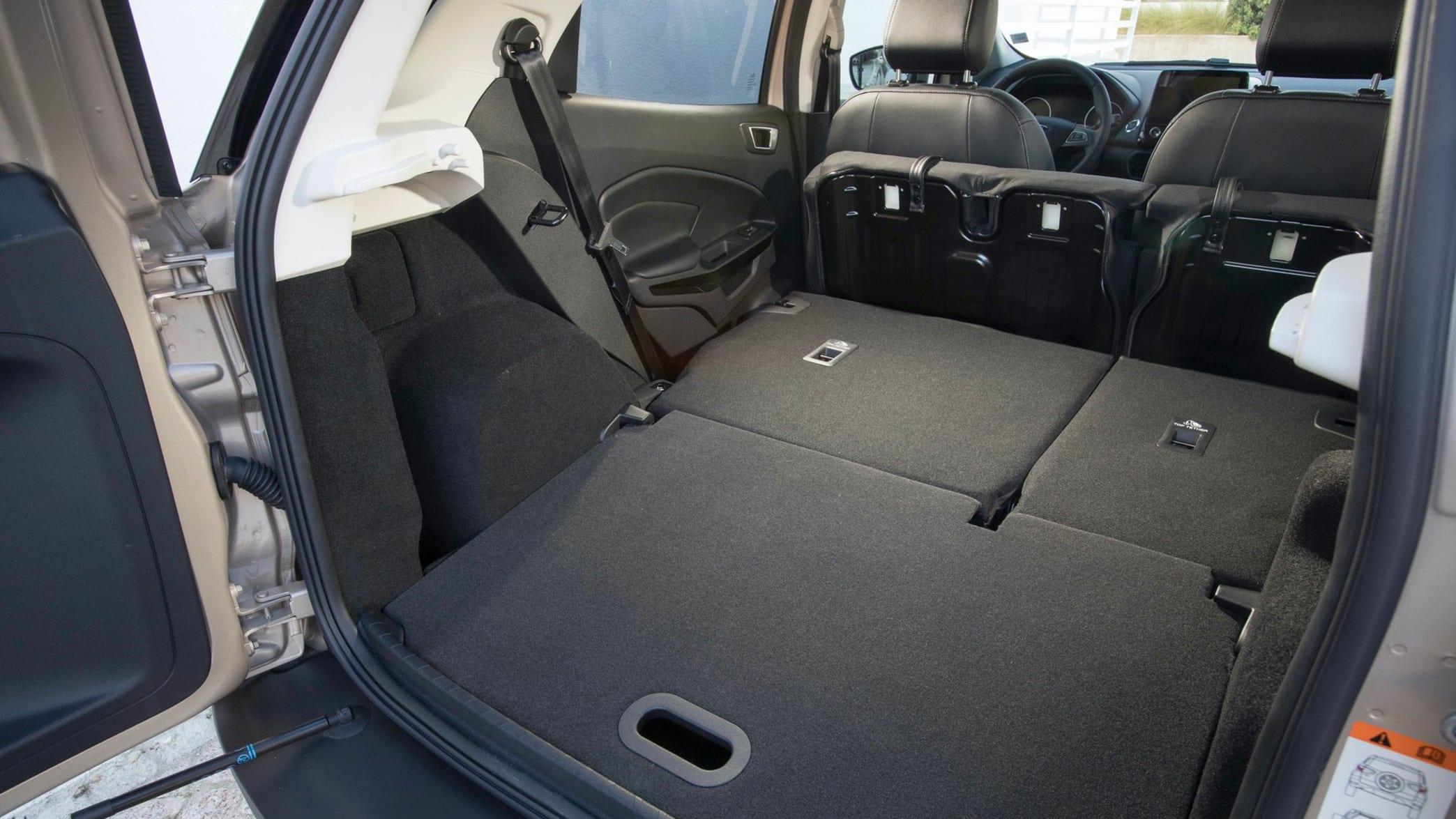 Kofferraum eines Ford EcoSport