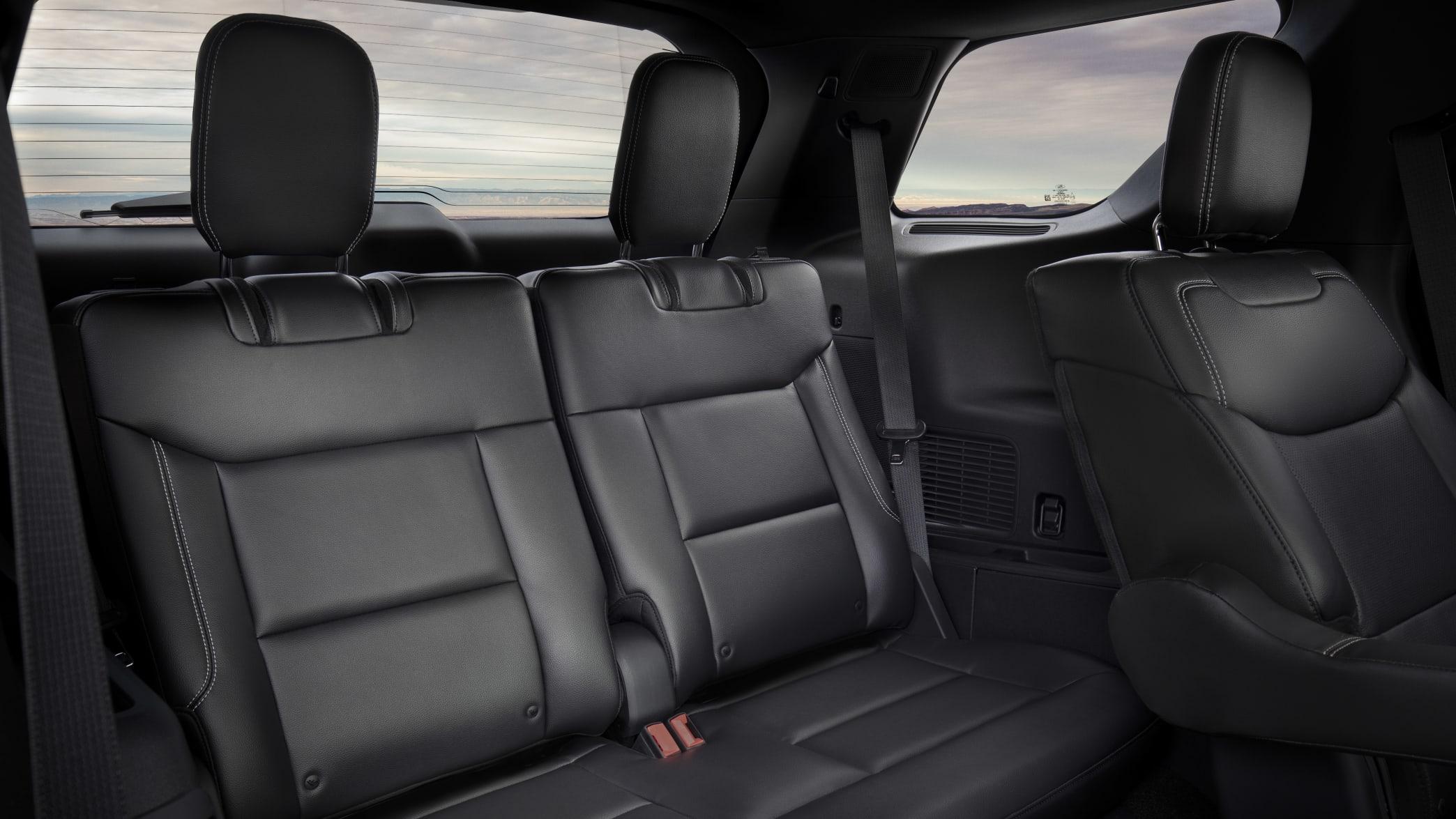 Blick auf die Rückbank des Ford Explorer ST