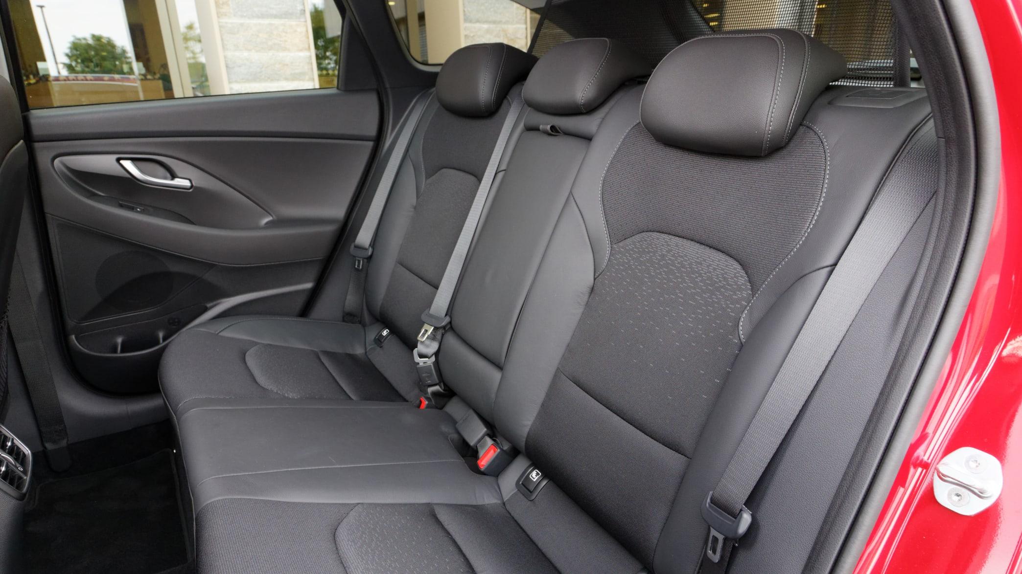 Blick auf den Rücksicht des Hyundai i30 Kombi