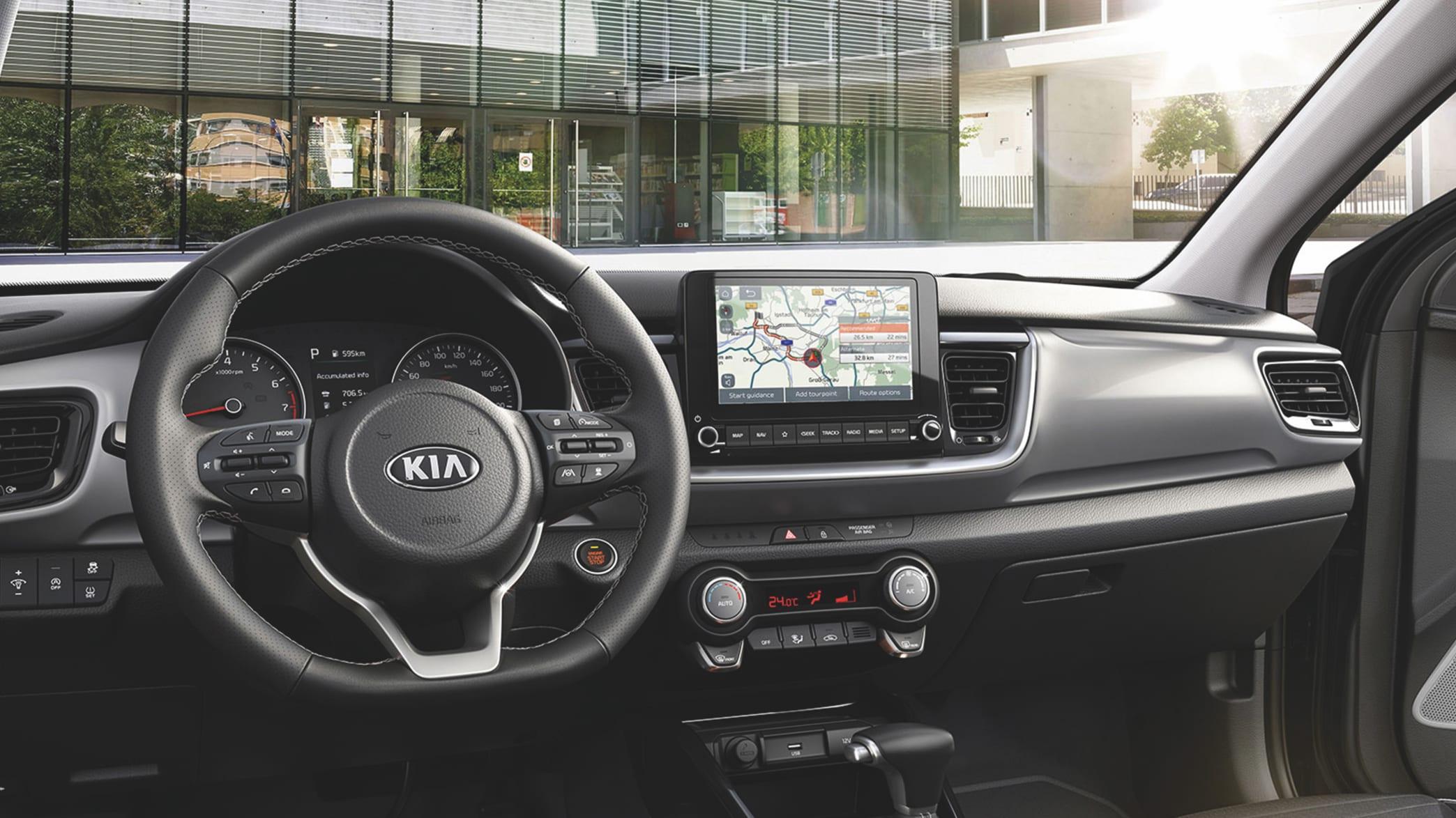 Das Cockpit vom Kia Stonic Modelljahr 2021