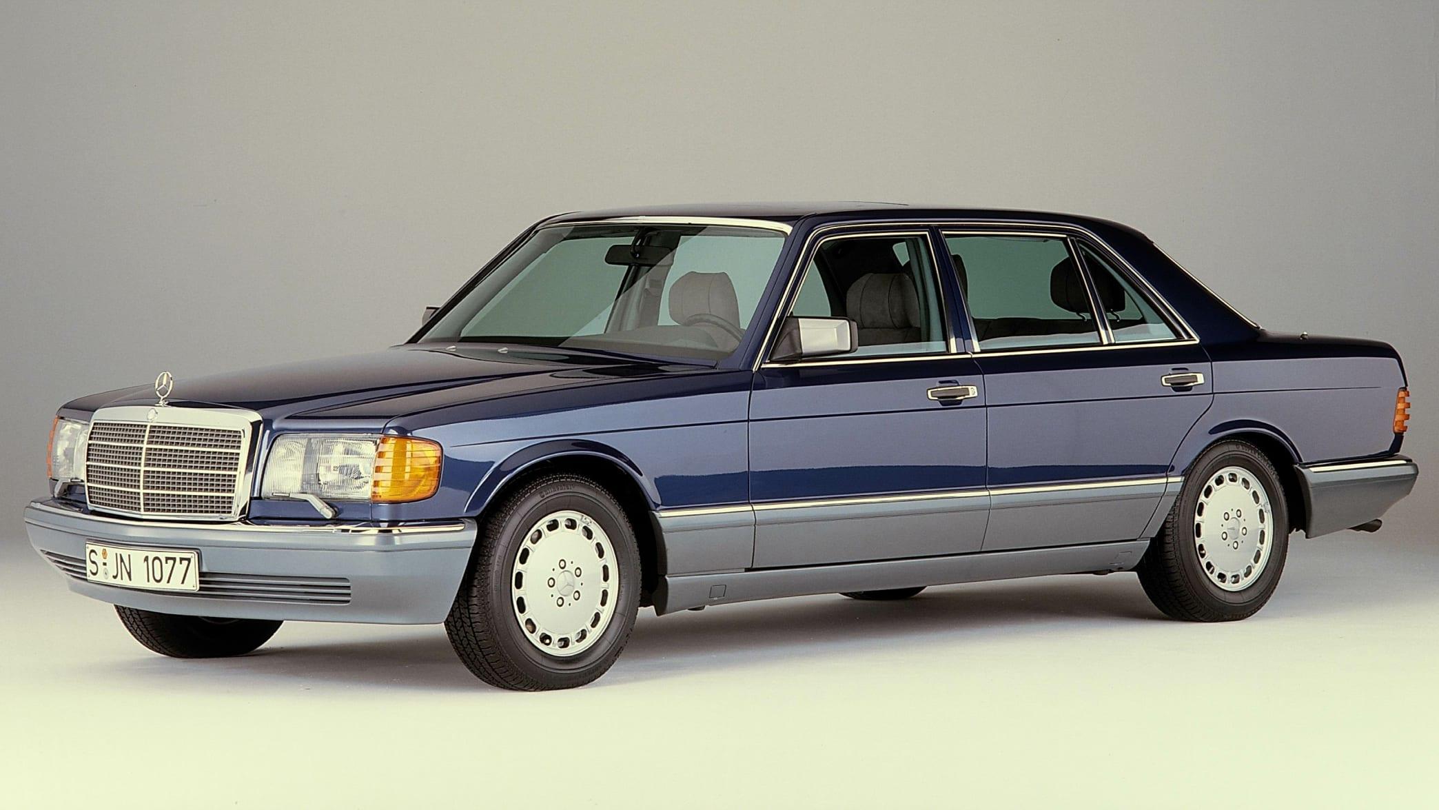 Mercedes-Benz S-Klasse Limousine der Baureihe W 126