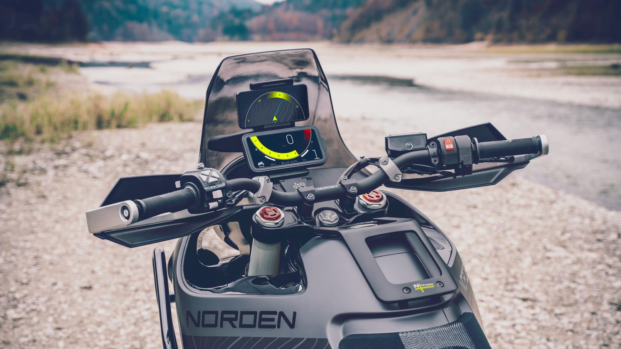 Husqvarna Norden 901 Lenker