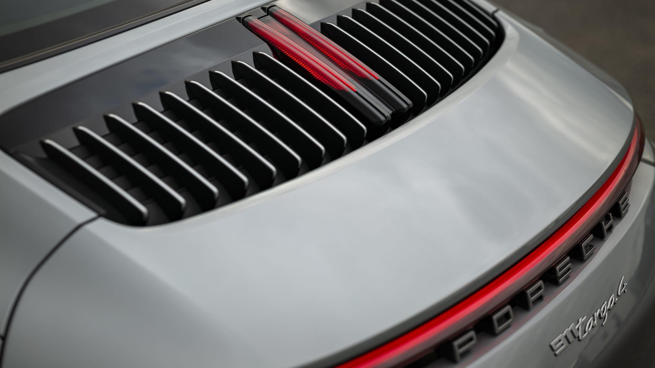 Heck eines Porsche 911er Targa 4