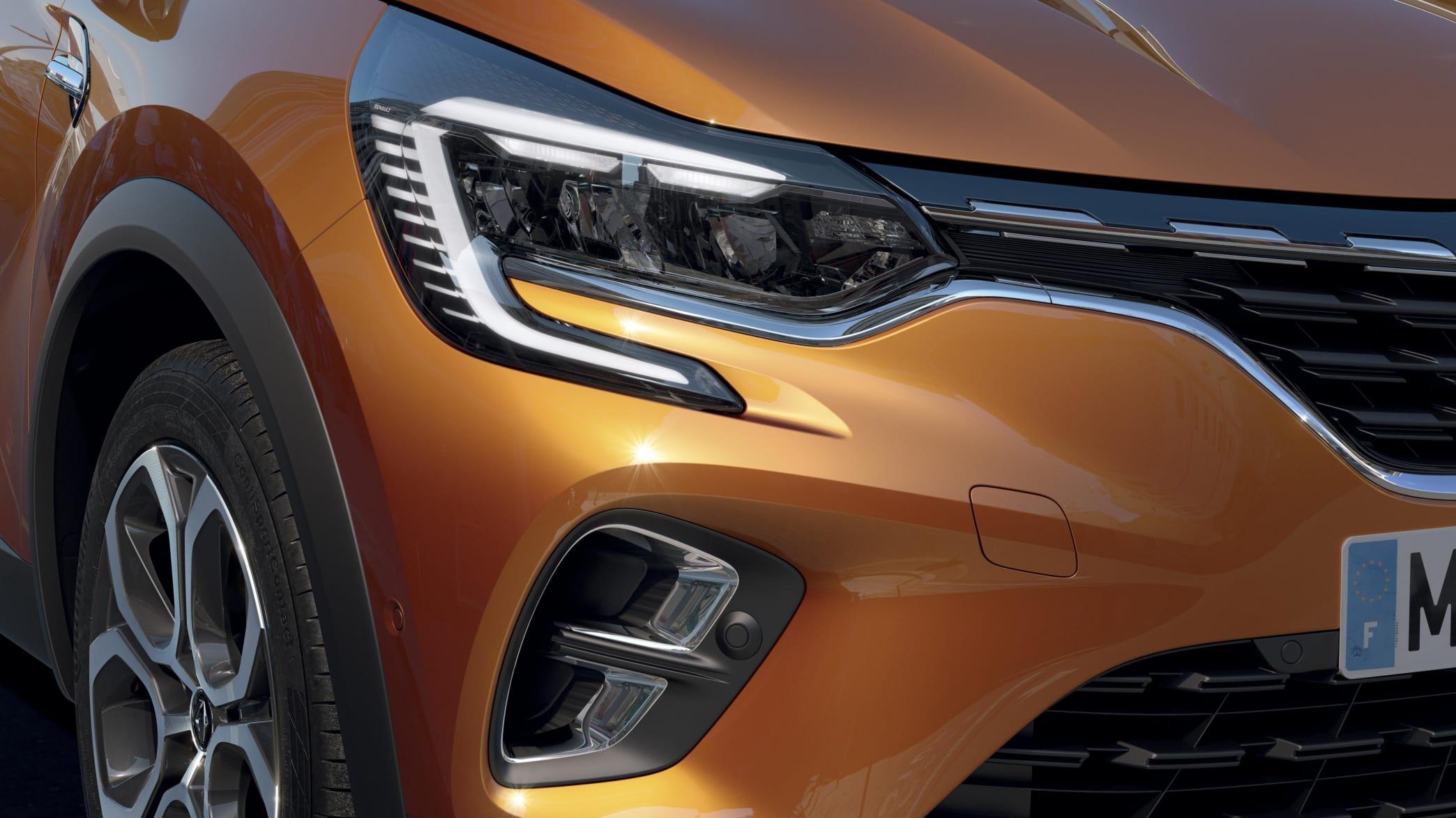 Renault Captur Scheinwerfer