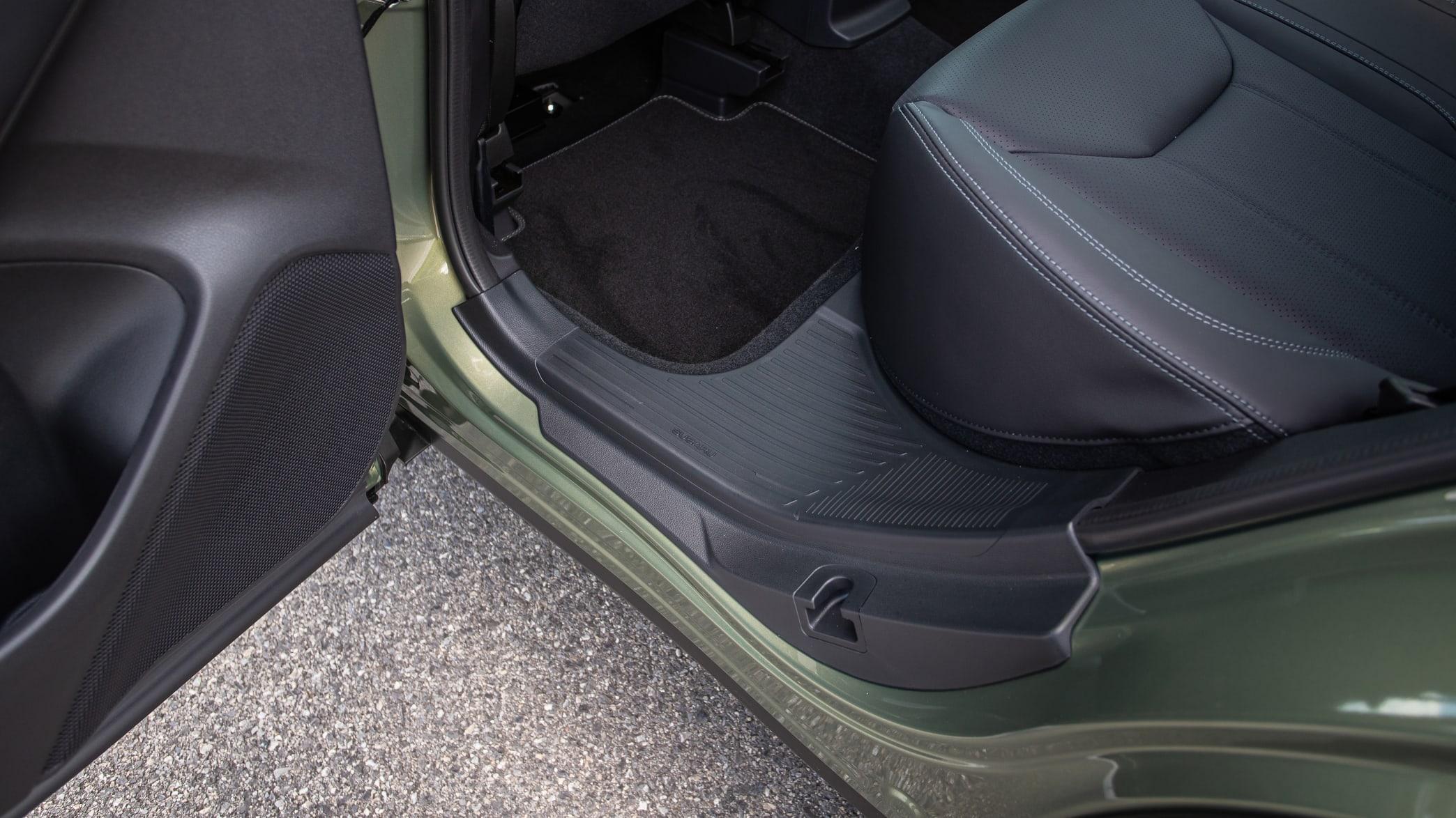 der Einstieg in den Subaru Forester