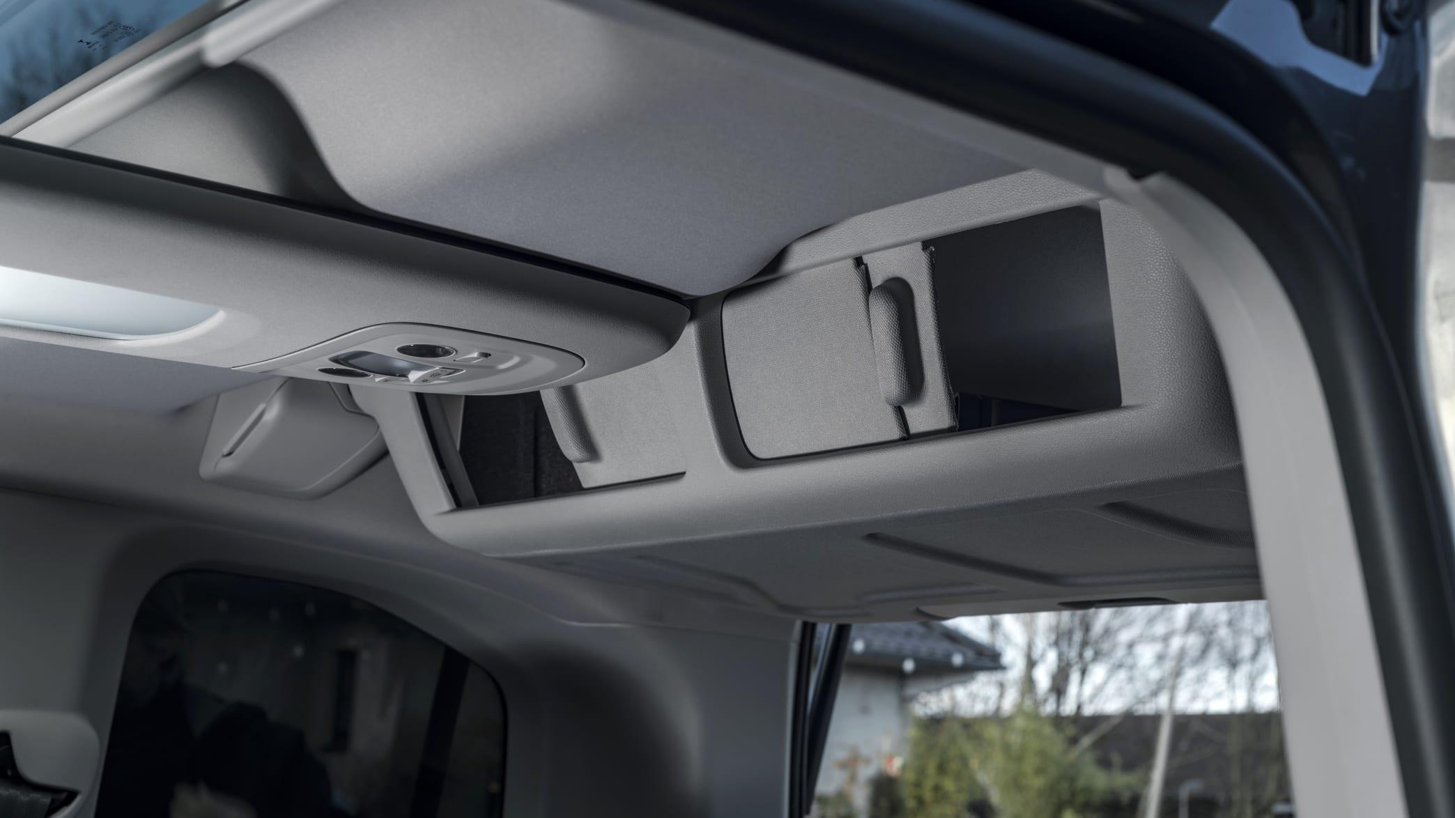 Innenraumdetails des Toyota ProAce City
