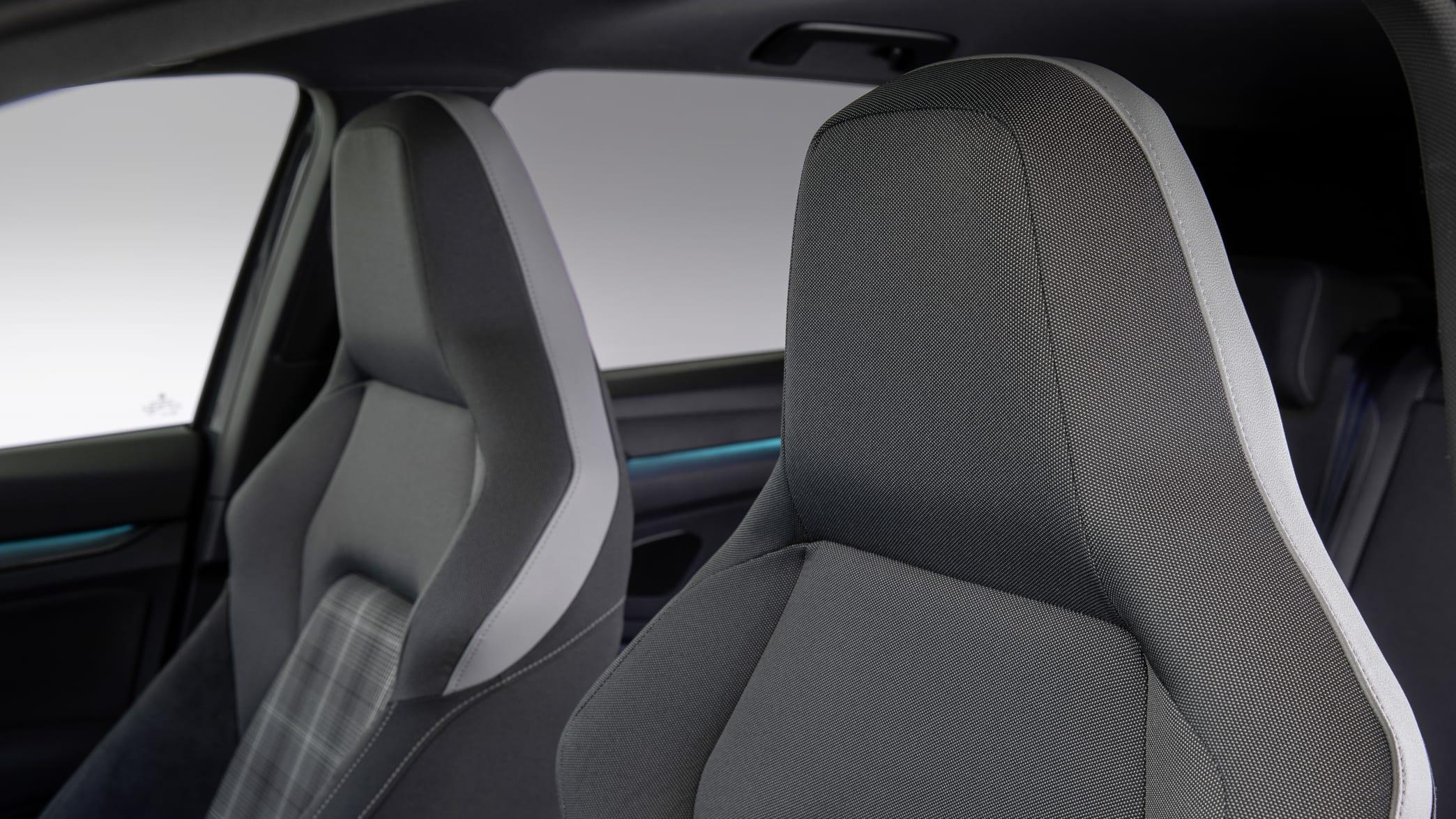 Die Sitze des neuen VW Golf GTD
